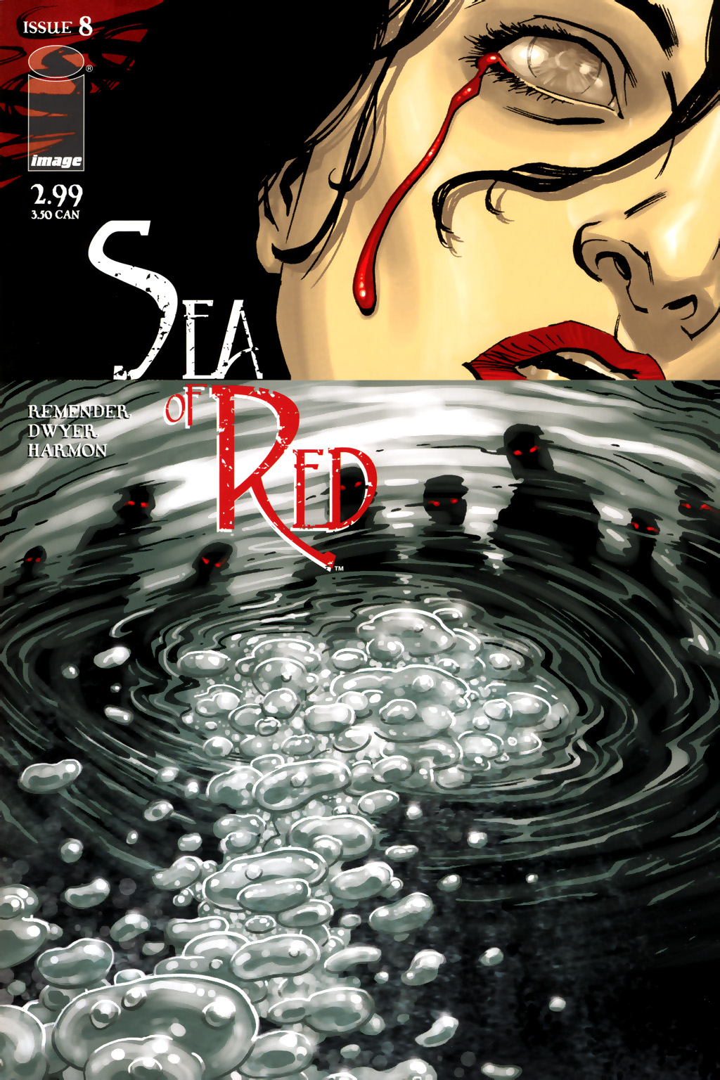 Read online Sea of Red comic -  Issue #8 - 1