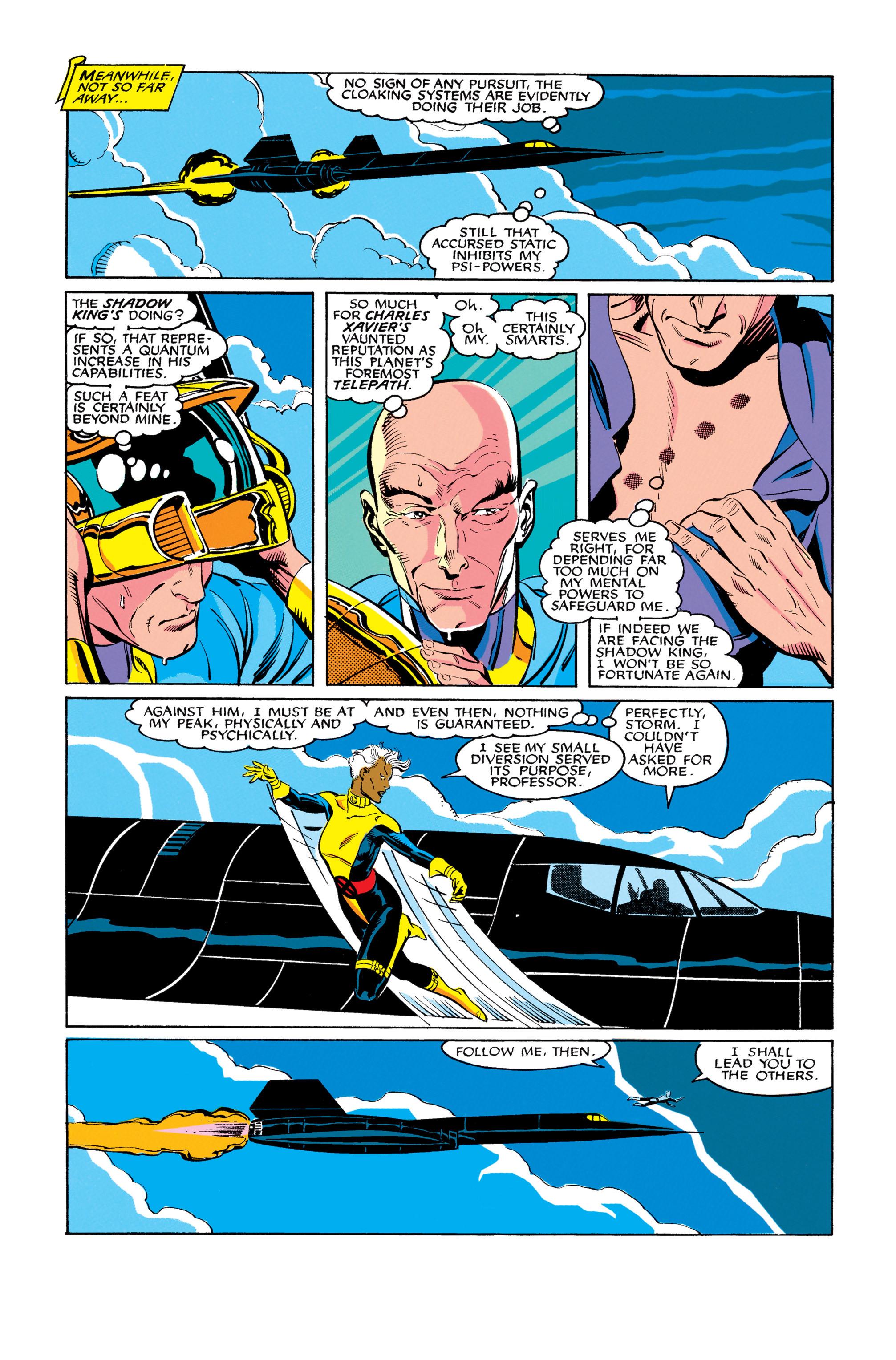Read online Uncanny X-Men (1963) comic -  Issue #278 - 12