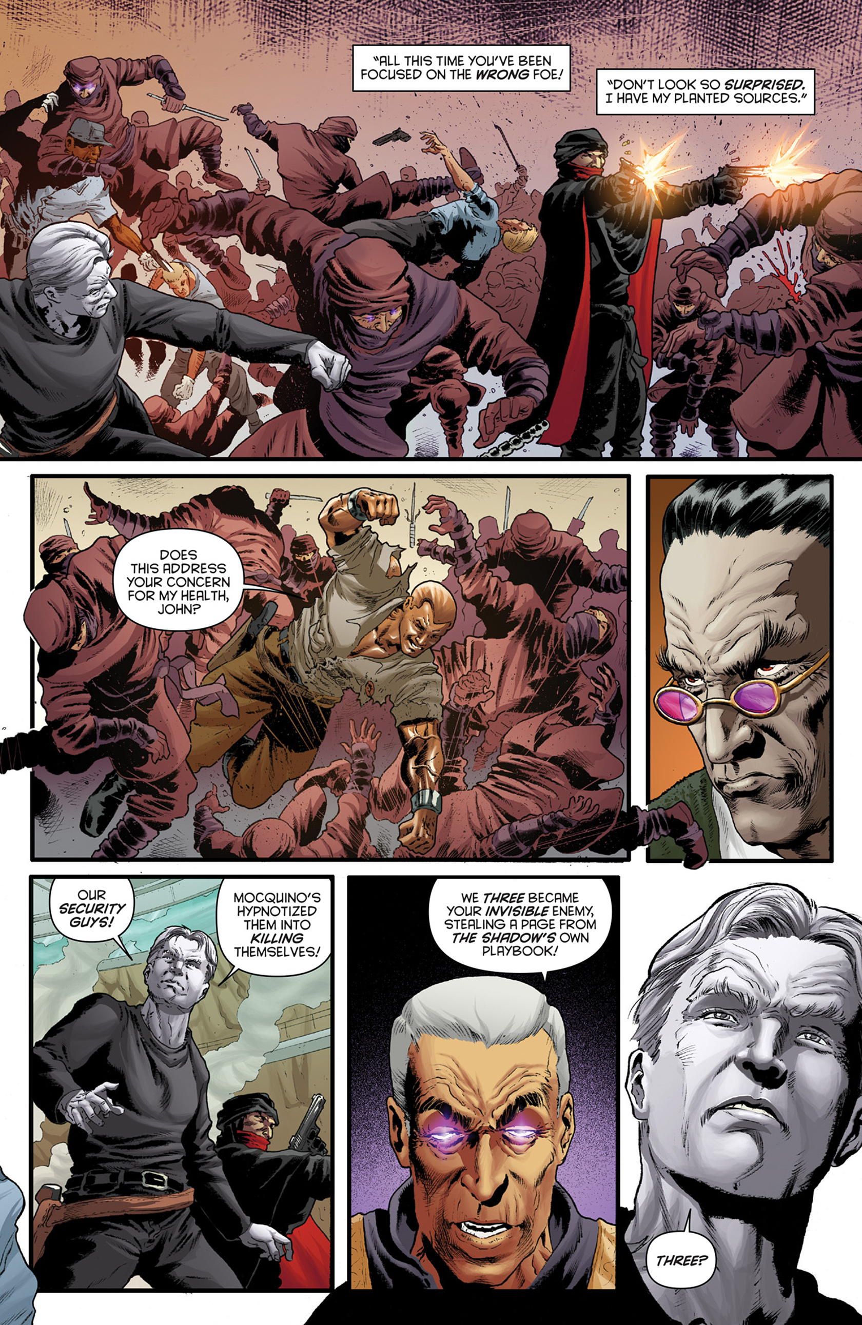 Read online Justice, Inc. comic -  Issue #4 - 5