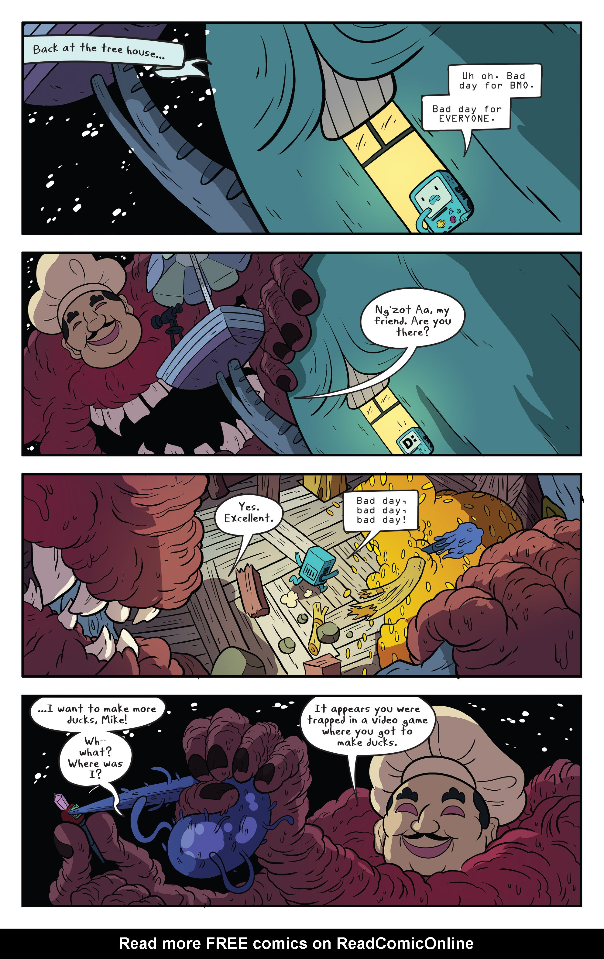 Read online Adventure Time comic -  Issue #59 - 14
