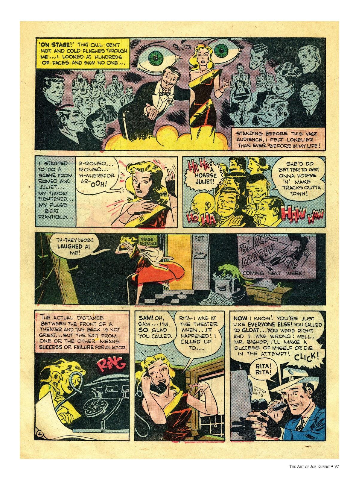 Read online The Art of Joe Kubert comic -  Issue # TPB (Part 1) - 96
