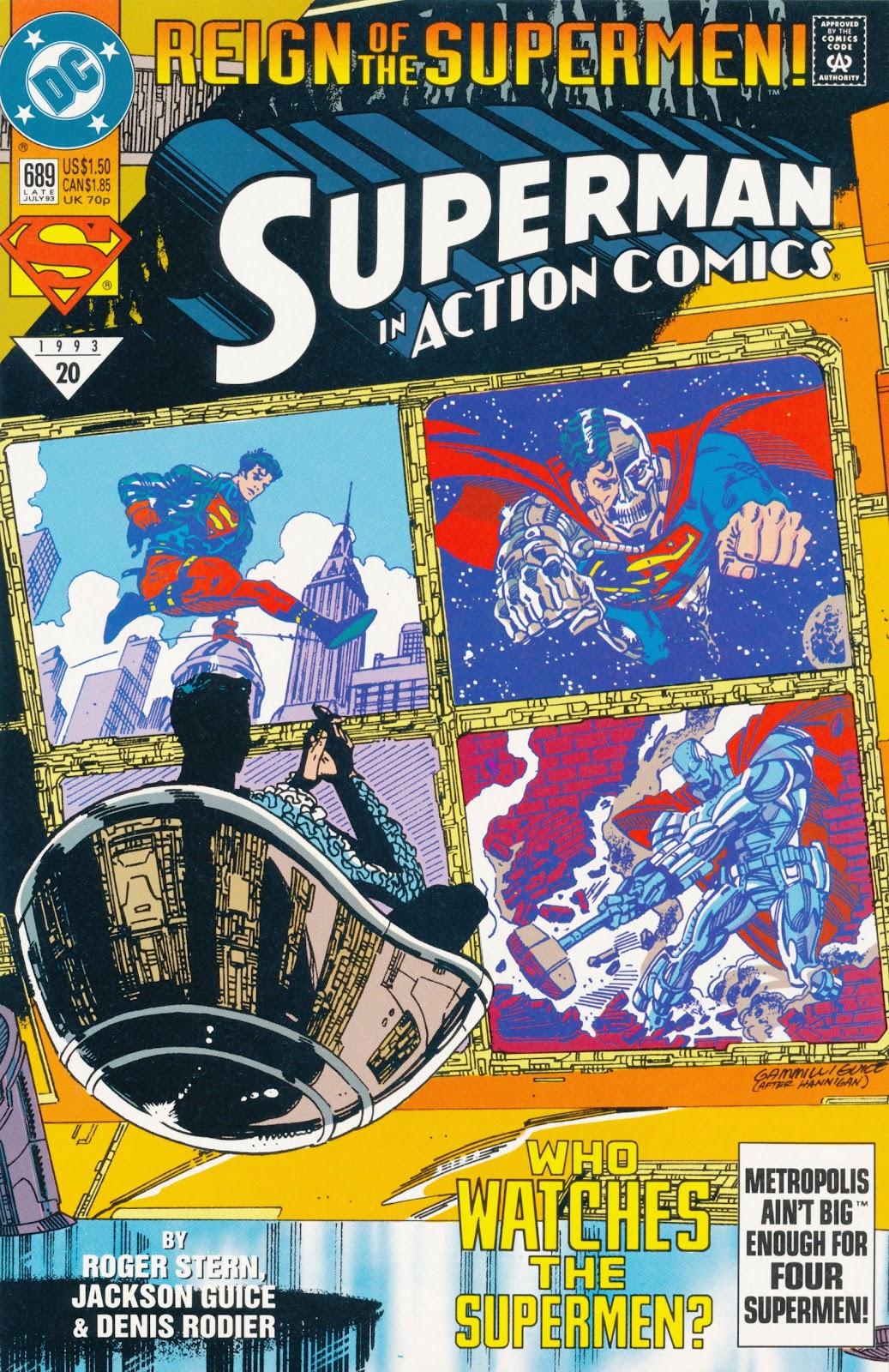 Action Comics (1938) 689 Page 1
