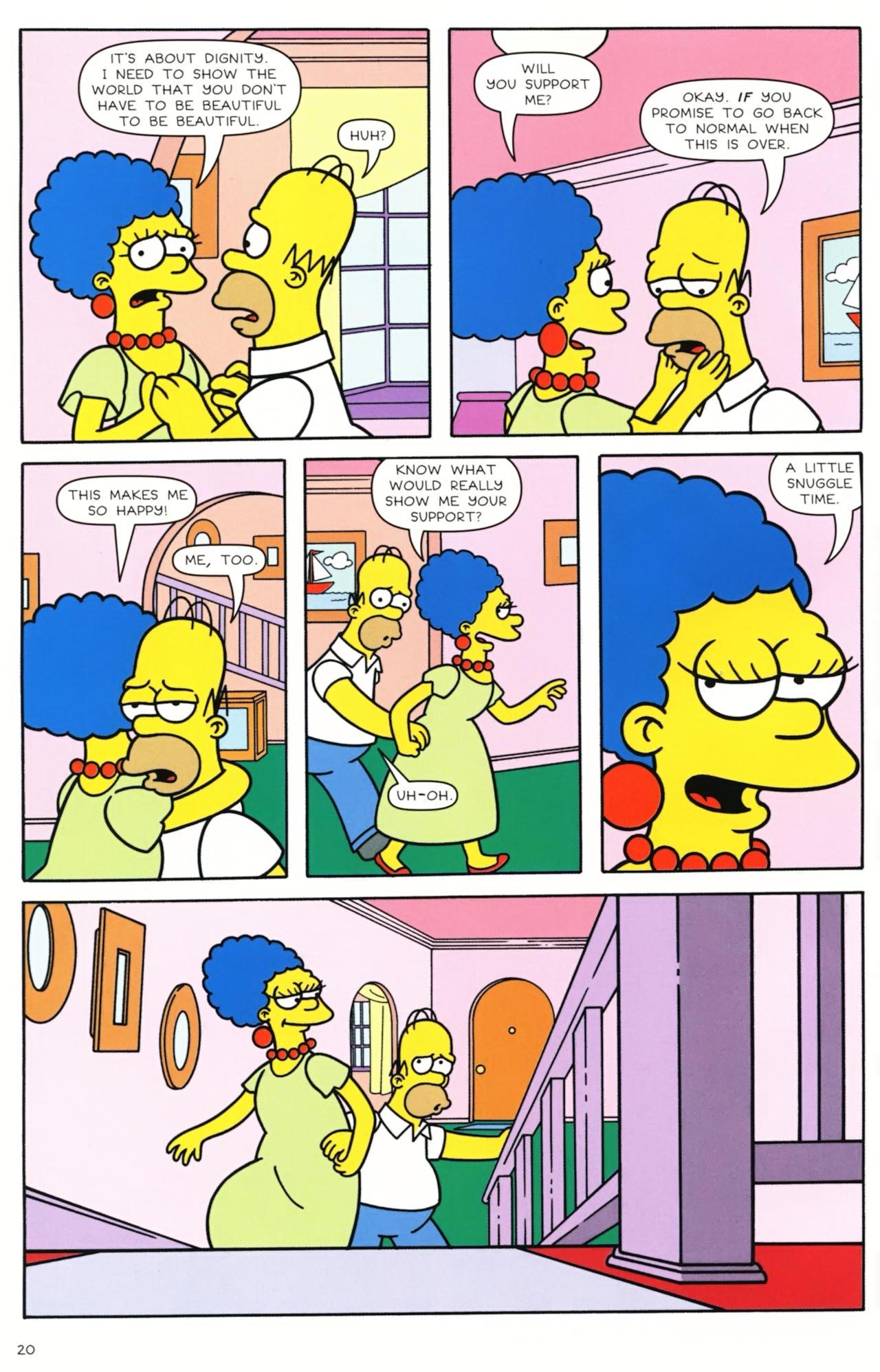 Read online Simpsons Comics comic -  Issue #157 - 17