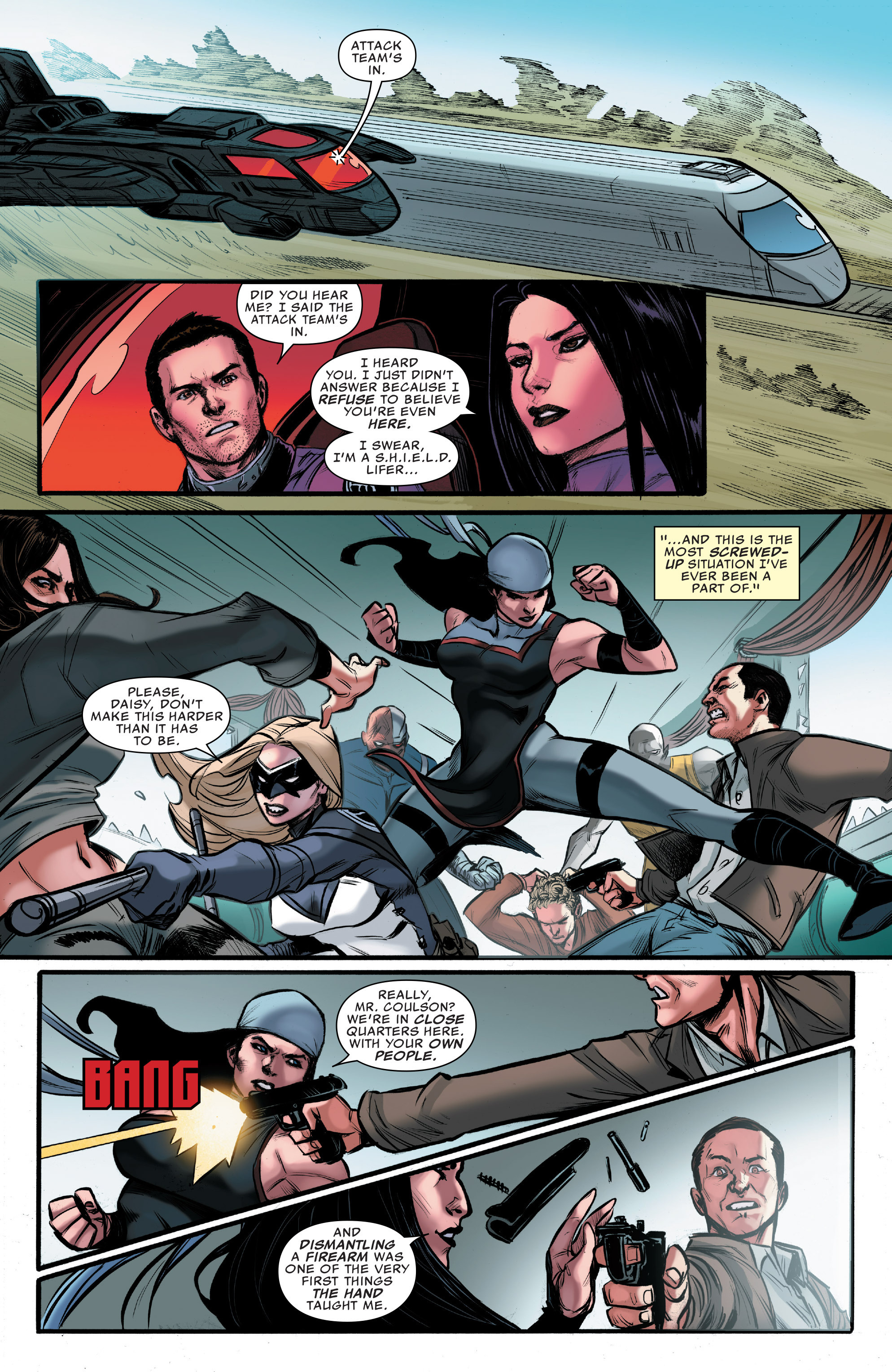 Read online Agents of S.H.I.E.L.D. comic -  Issue #9 - 17
