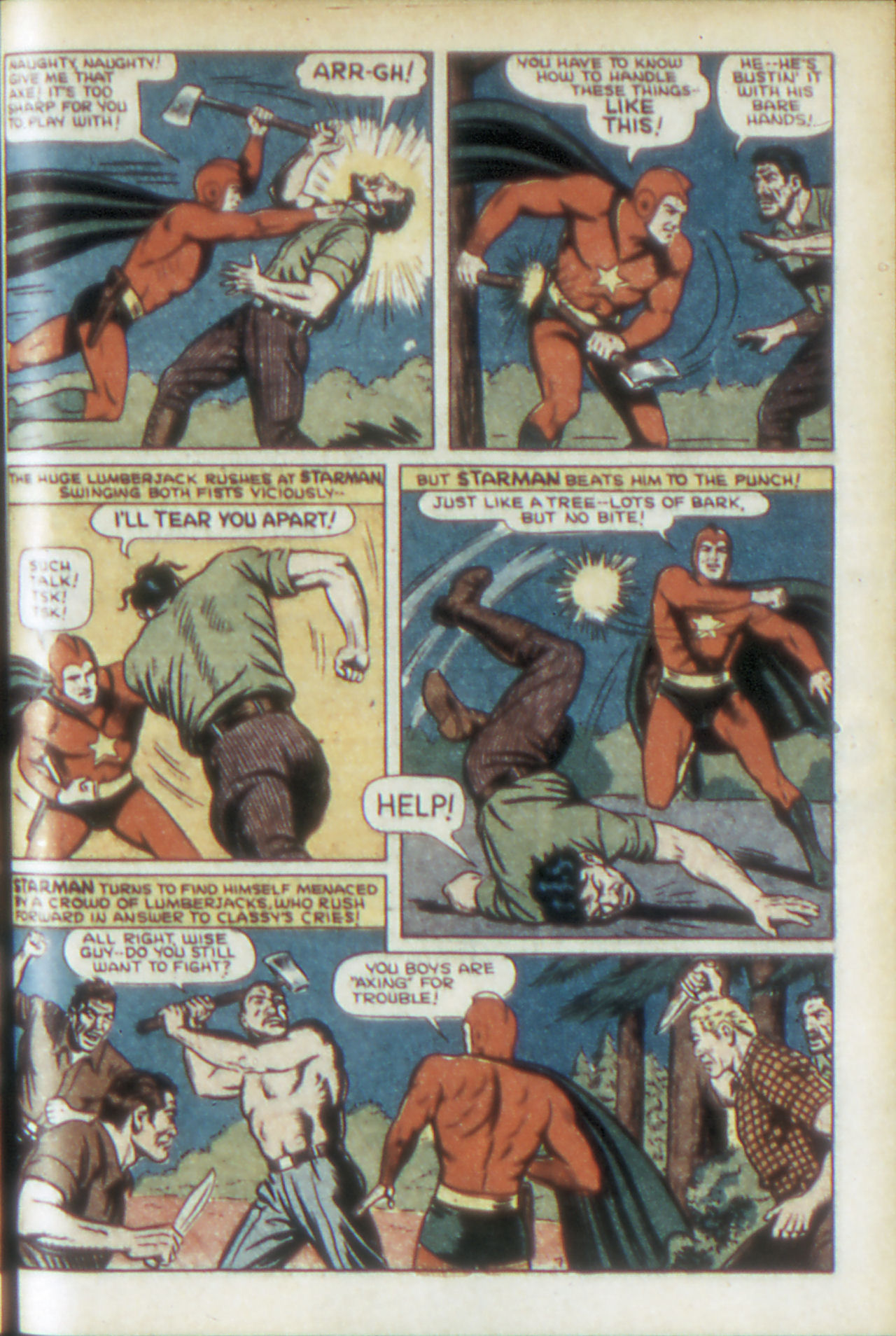 Read online Adventure Comics (1938) comic -  Issue #68 - 10