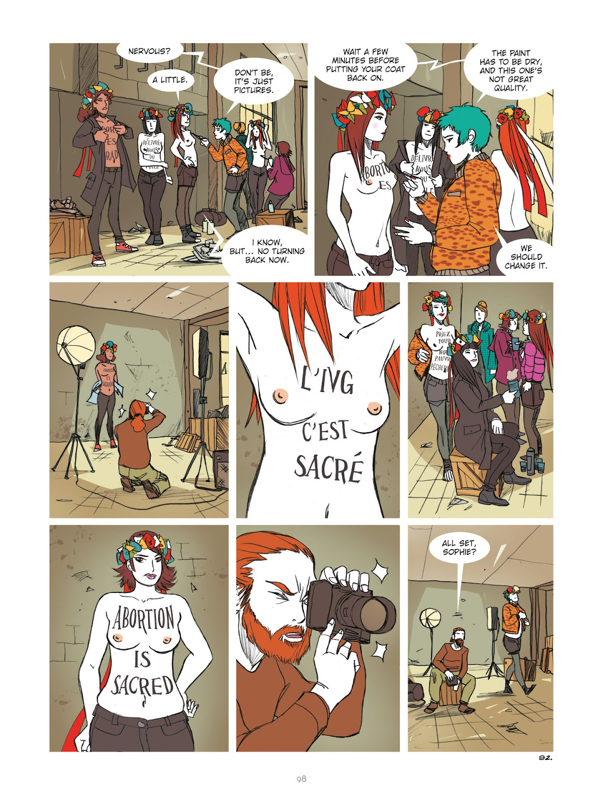Read online Diary of A Femen comic -  Issue # TPB - 100