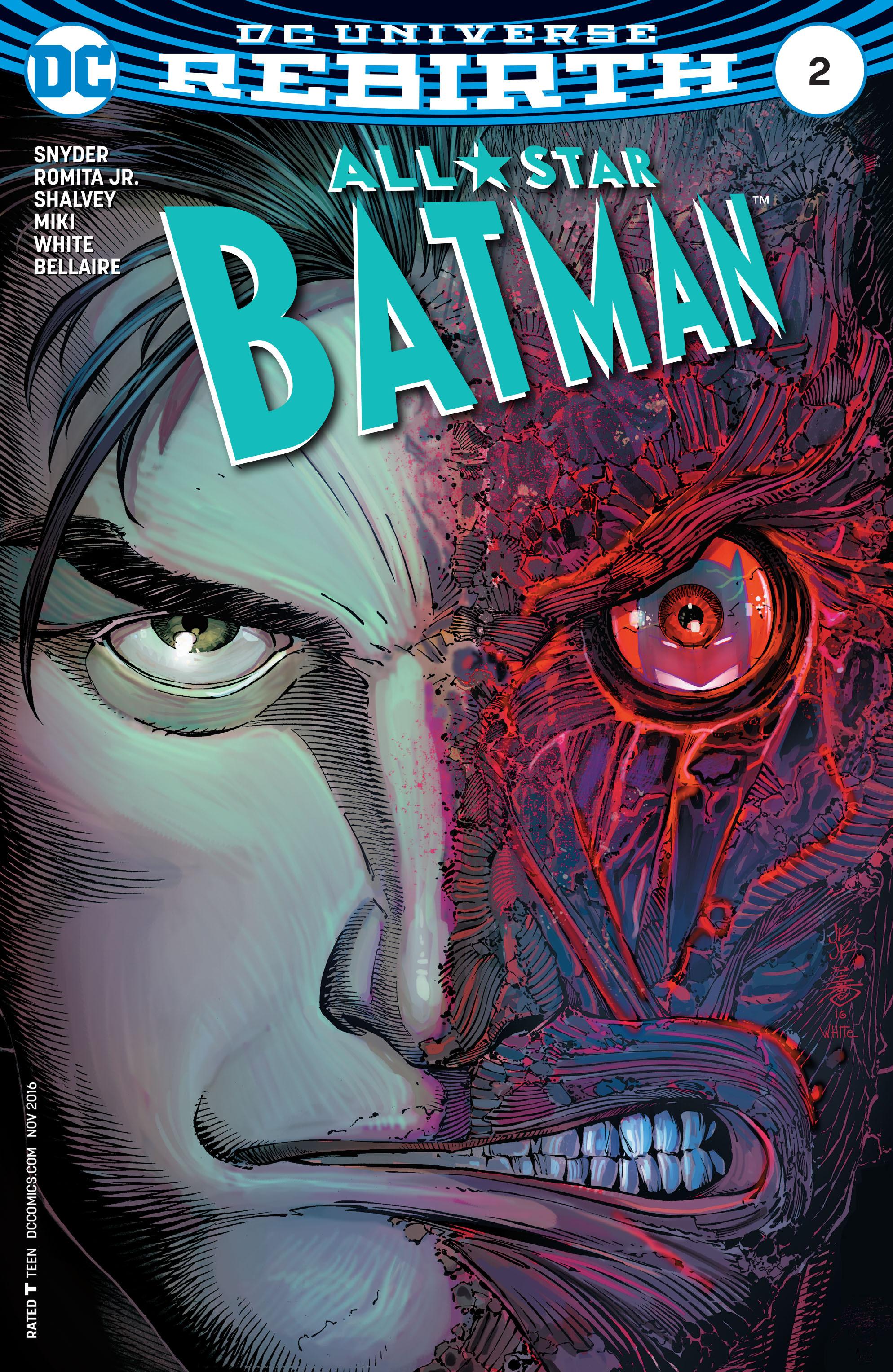 All-Star Batman 2 Page 1