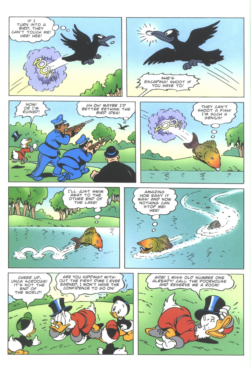 Read online Uncle Scrooge (1953) comic -  Issue #344 - 10