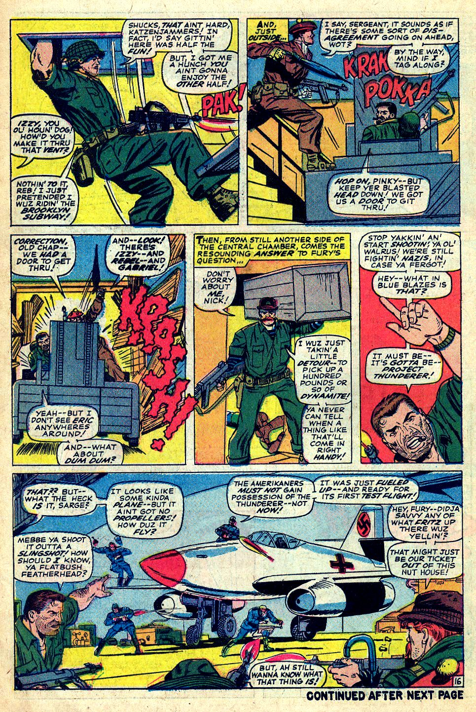 Read online Sgt. Fury comic -  Issue #39 - 22