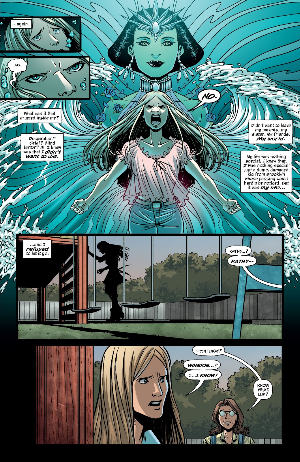 Read online The Girl In The Bay comic -  Issue #4 - 7