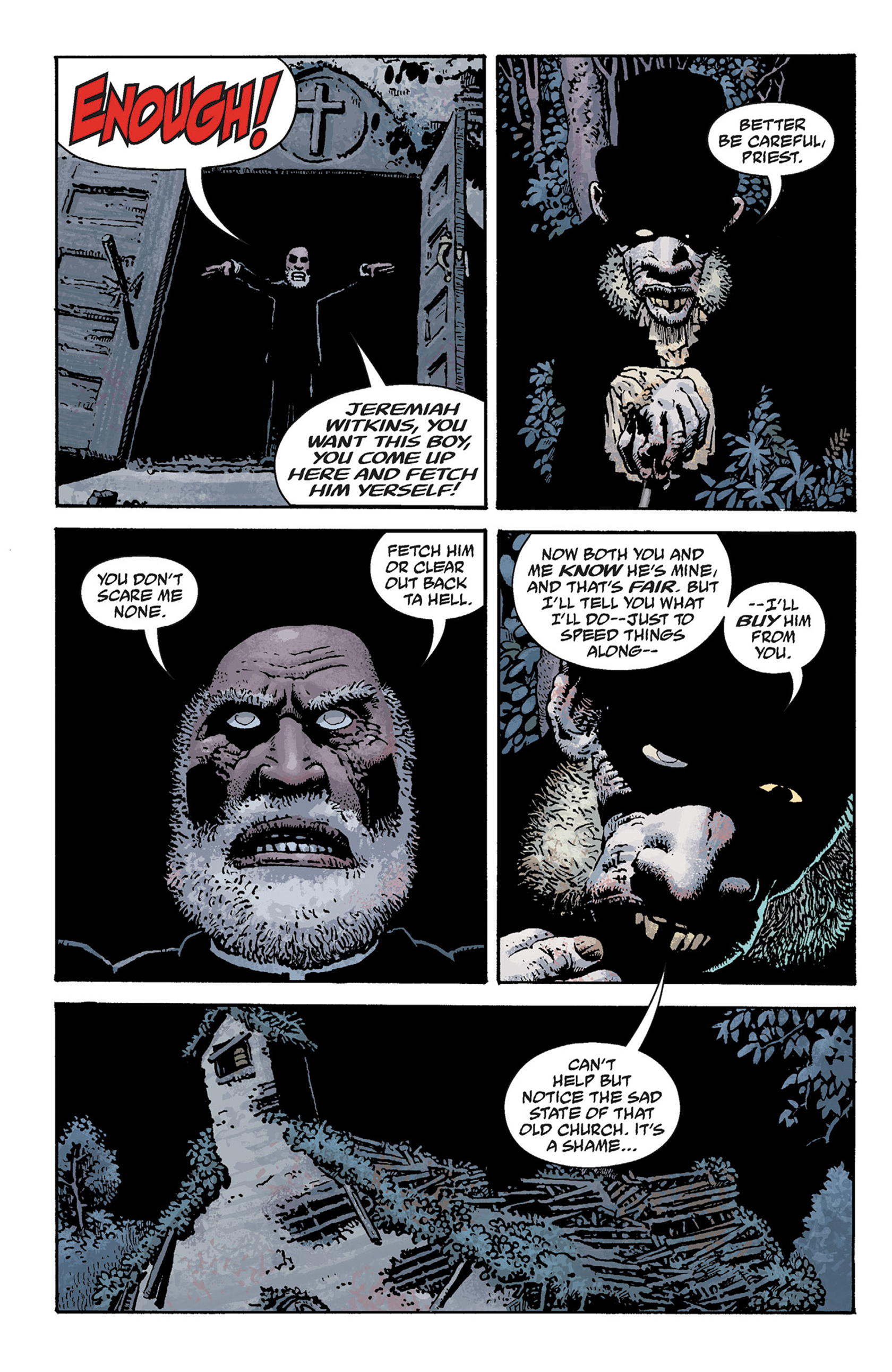 Read online Hellboy: The Crooked Man and Others comic -  Issue # TPB - 62