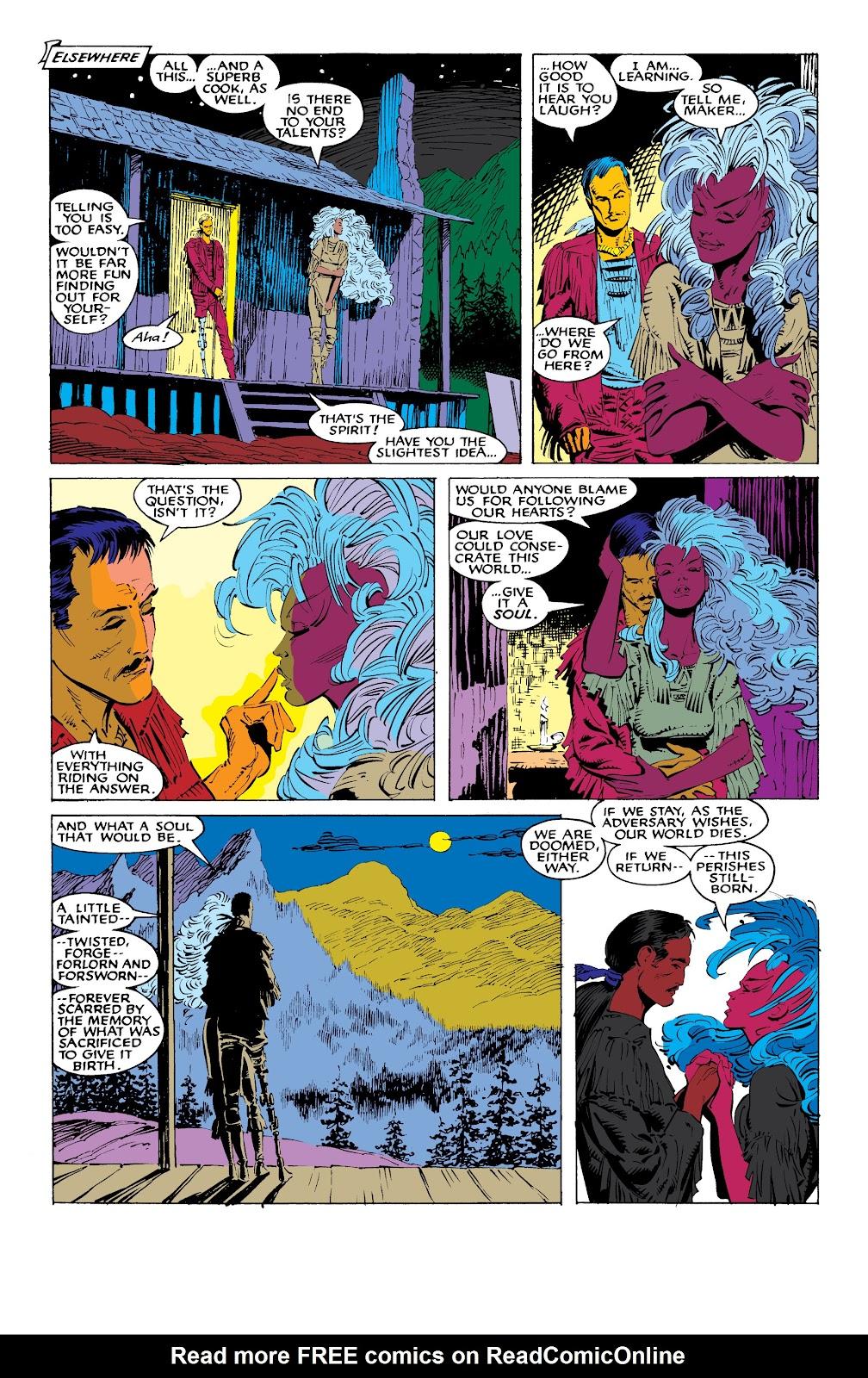 Read online X-Men Milestones: Fall of the Mutants comic -  Issue # TPB (Part 1) - 57