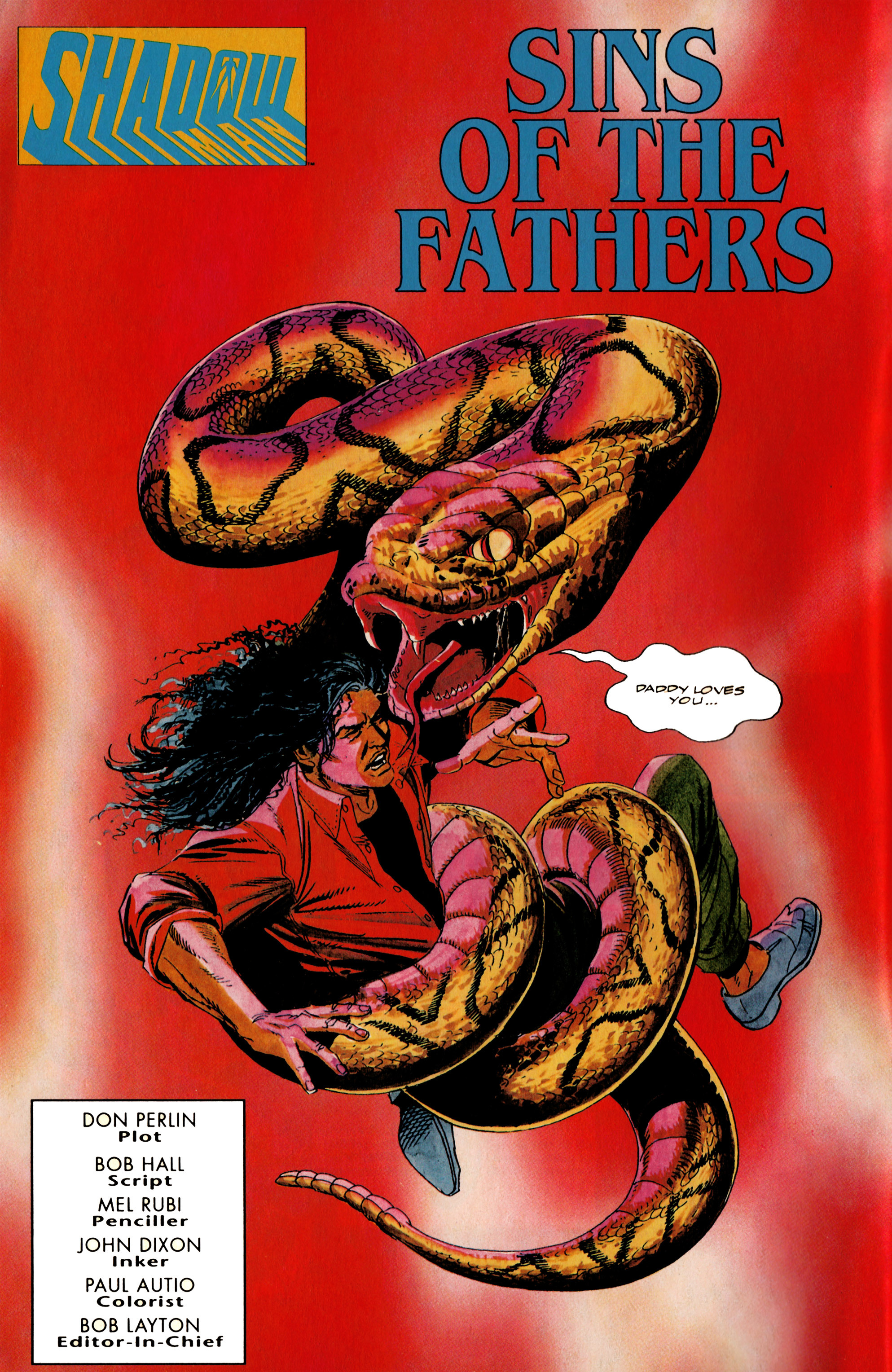 Read online Shadowman (1992) comic -  Issue #20 - 3