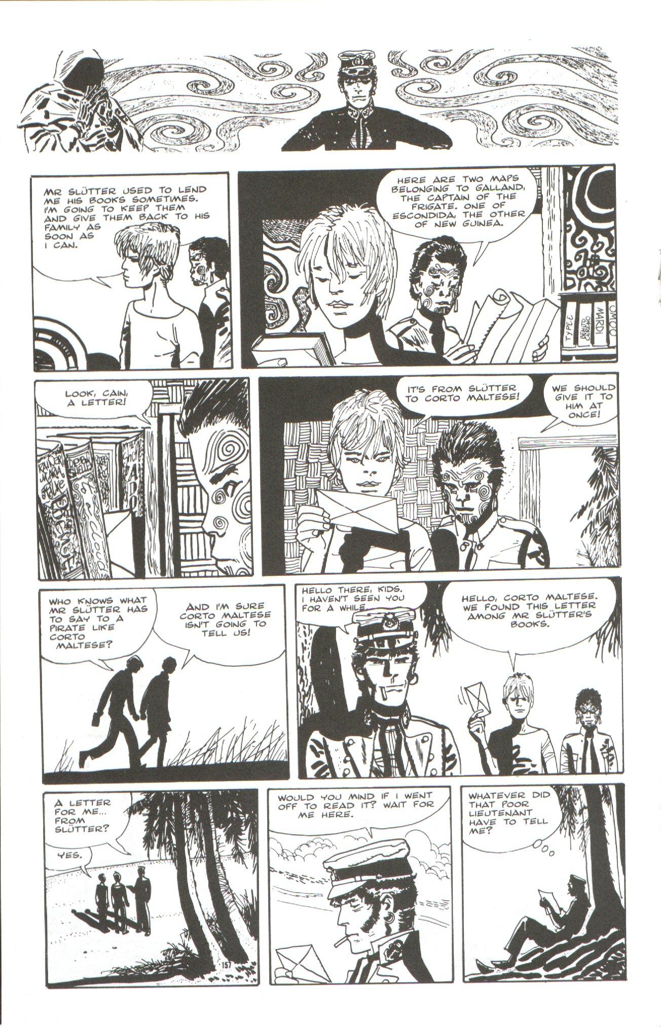 Read online Corto Maltese: Ballad of the Salt Sea comic -  Issue #7 - 14
