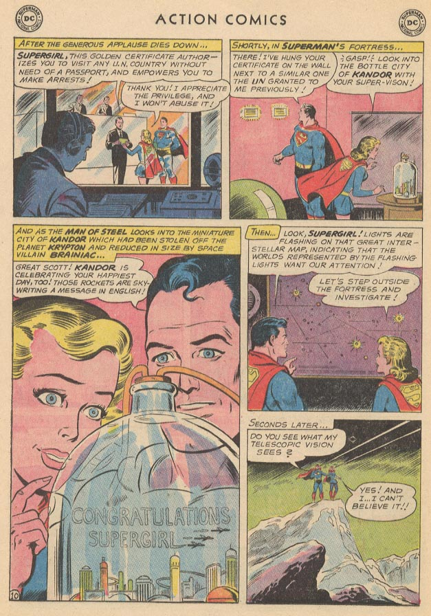 Read online Action Comics (1938) comic -  Issue #285 - 12