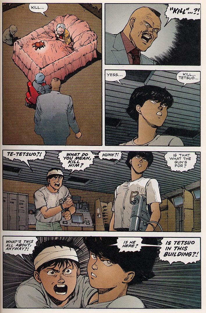 Read online Akira comic -  Issue #8 - 17