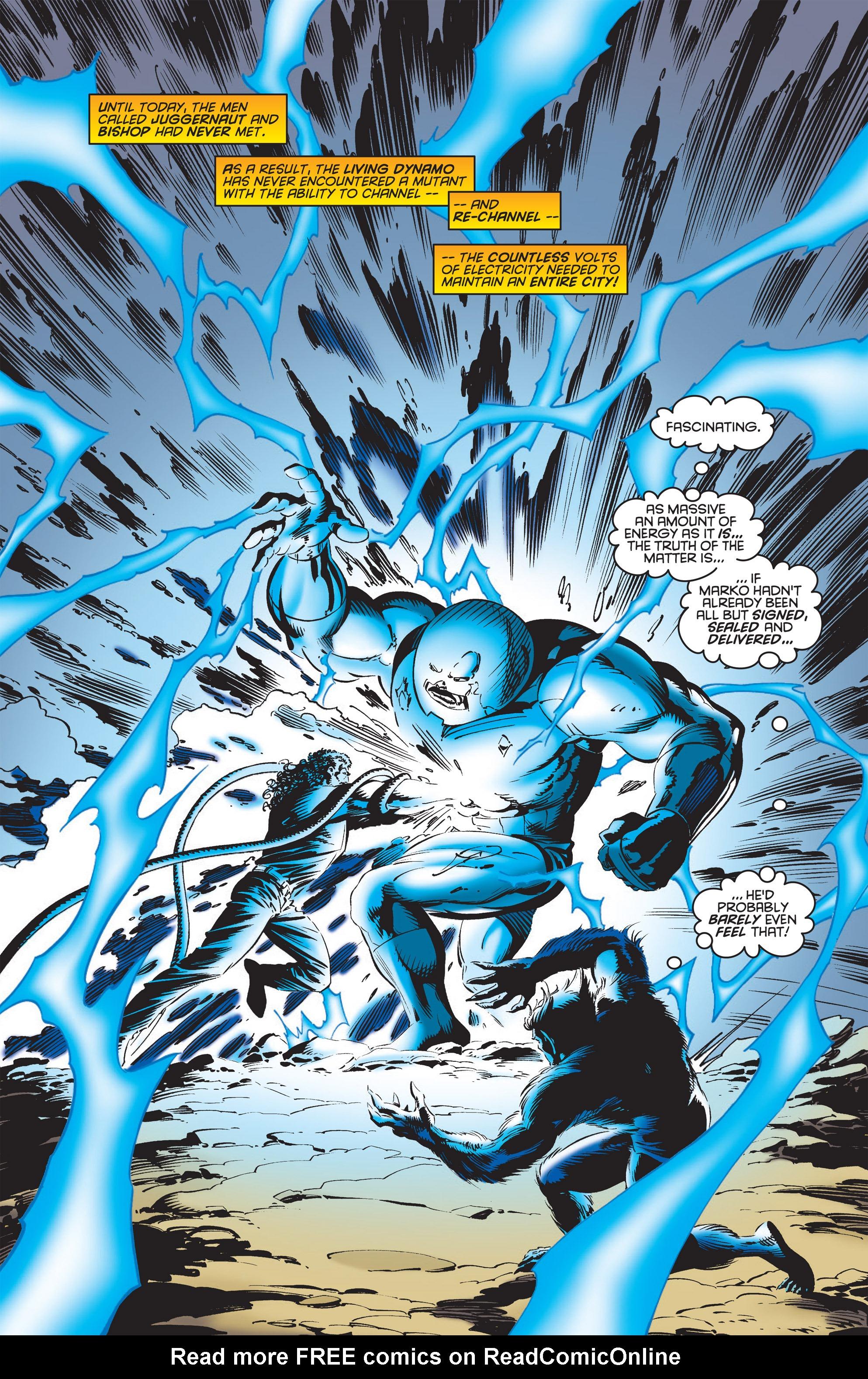 Read online Uncanny X-Men (1963) comic -  Issue #322 - 20