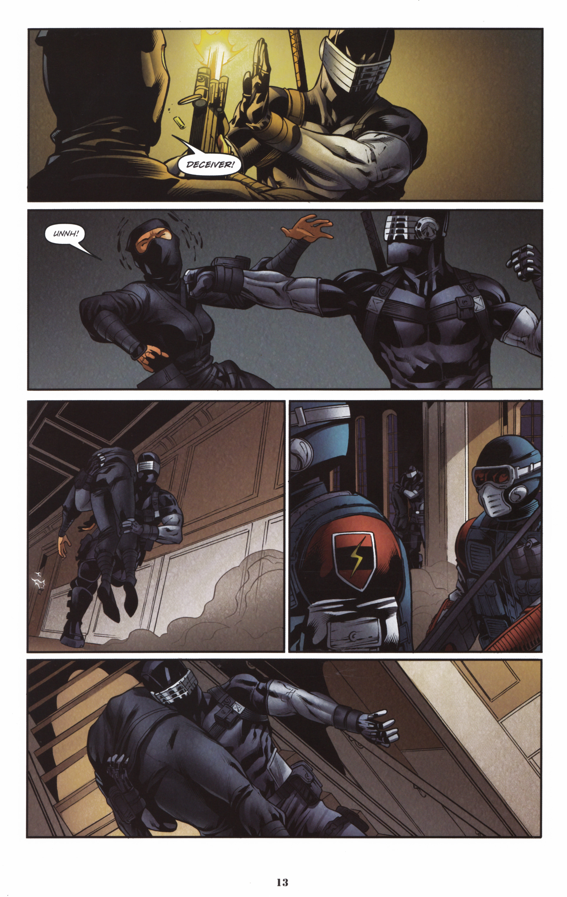 Read online Snake Eyes and Storm Shadow comic -  Issue #16 - 15