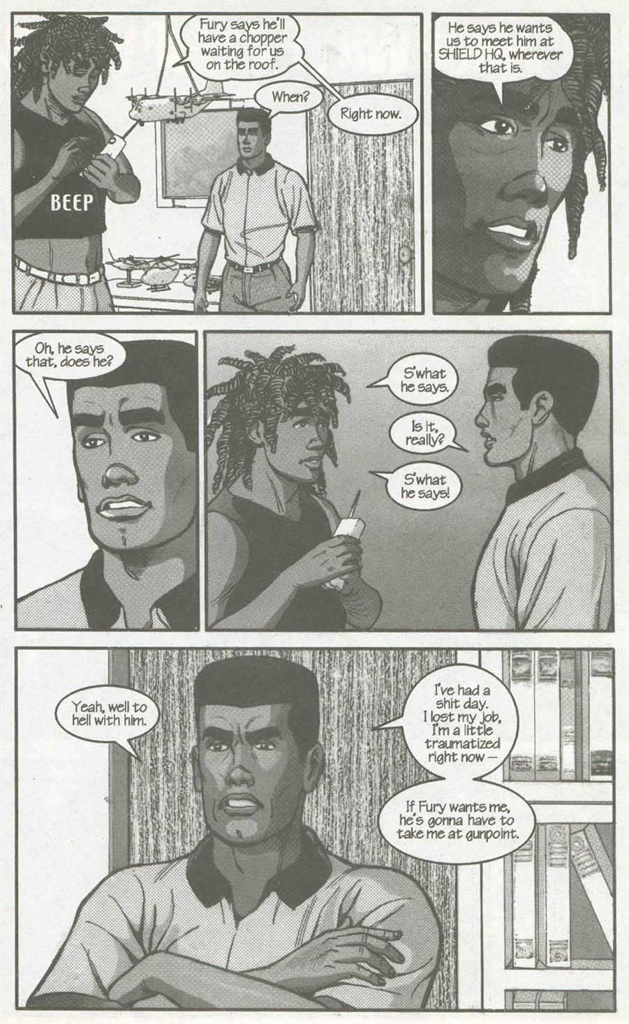 Read online U.S. War Machine comic -  Issue #2 - 20