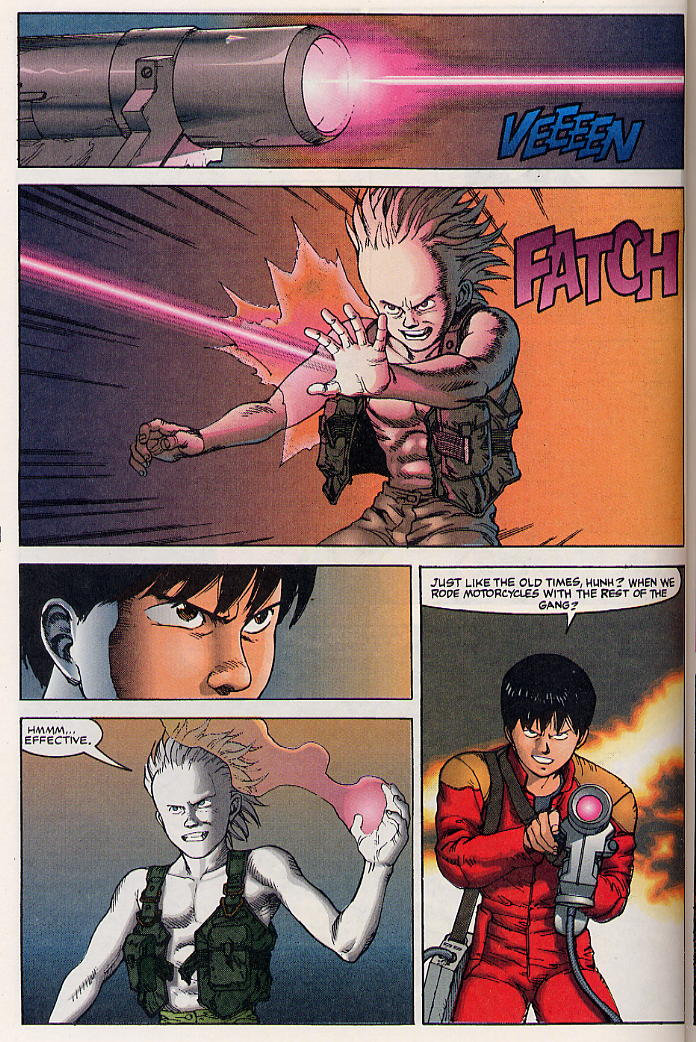 Read online Akira comic -  Issue #32 - 35