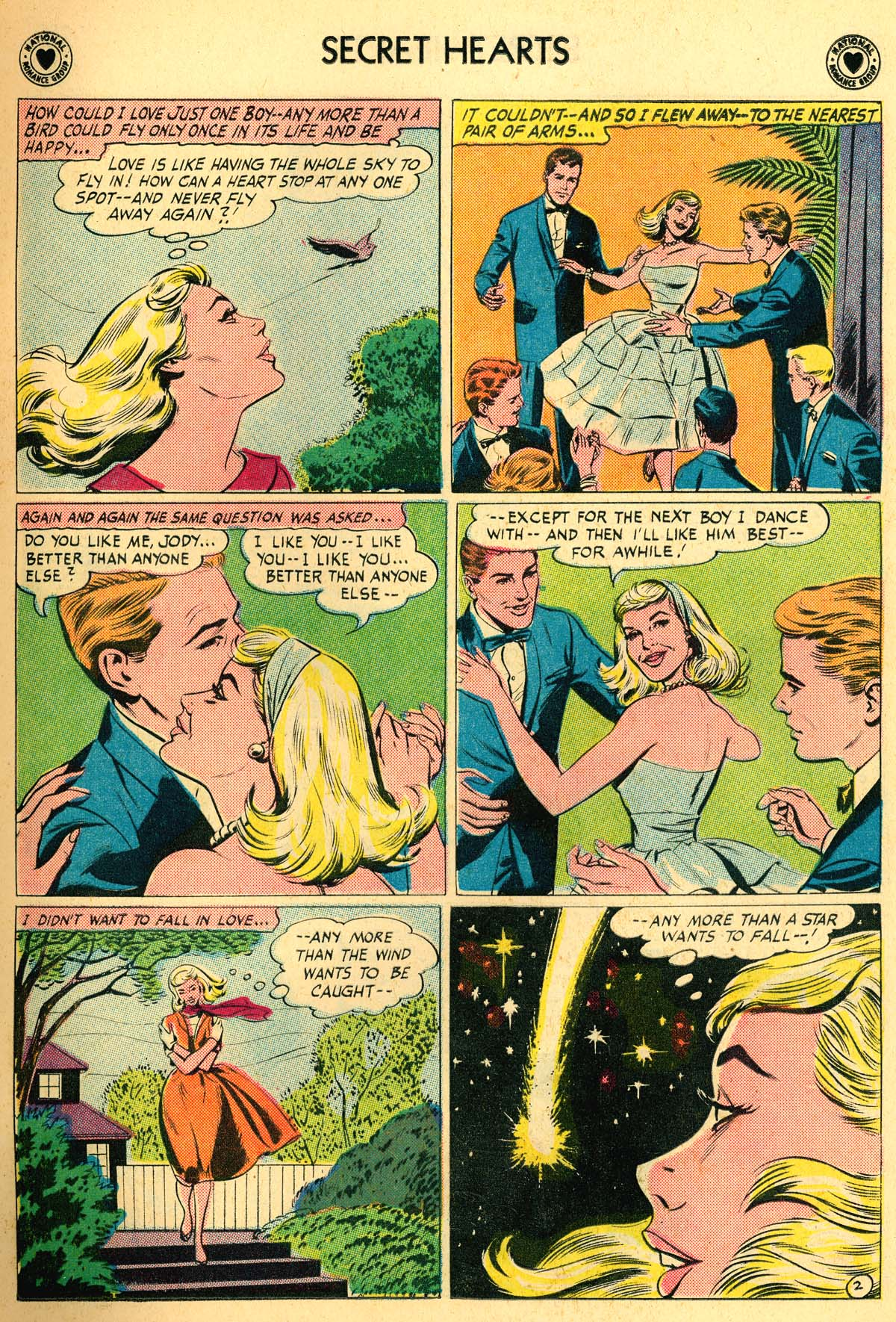 Read online Secret Hearts comic -  Issue #66 - 15