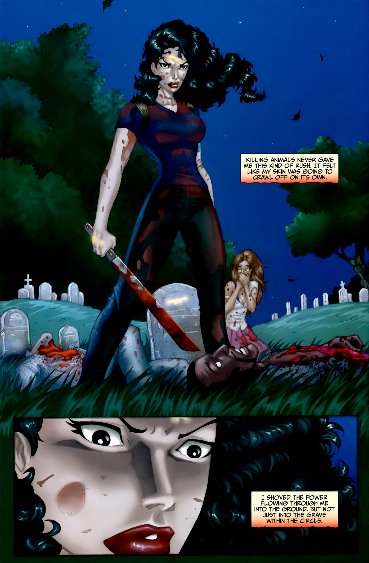 Read online Anita Blake: The Laughing Corpse - Executioner comic -  Issue #5 - 4