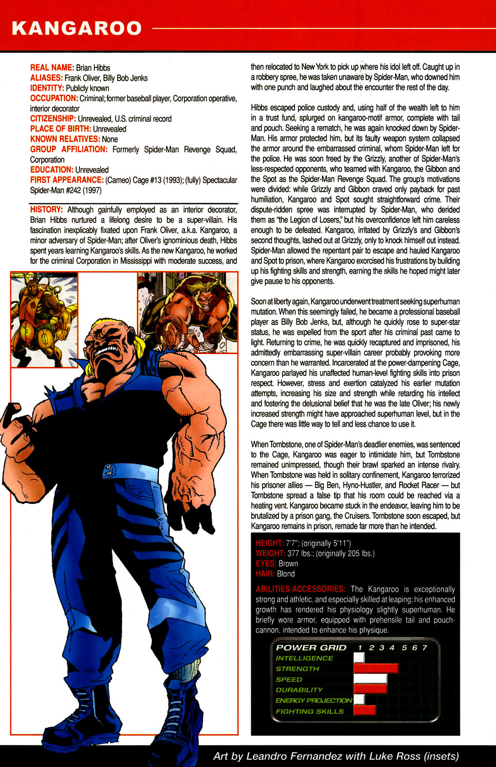 Read online All-New Official Handbook of the Marvel Universe A to Z comic -  Issue #6 - 7