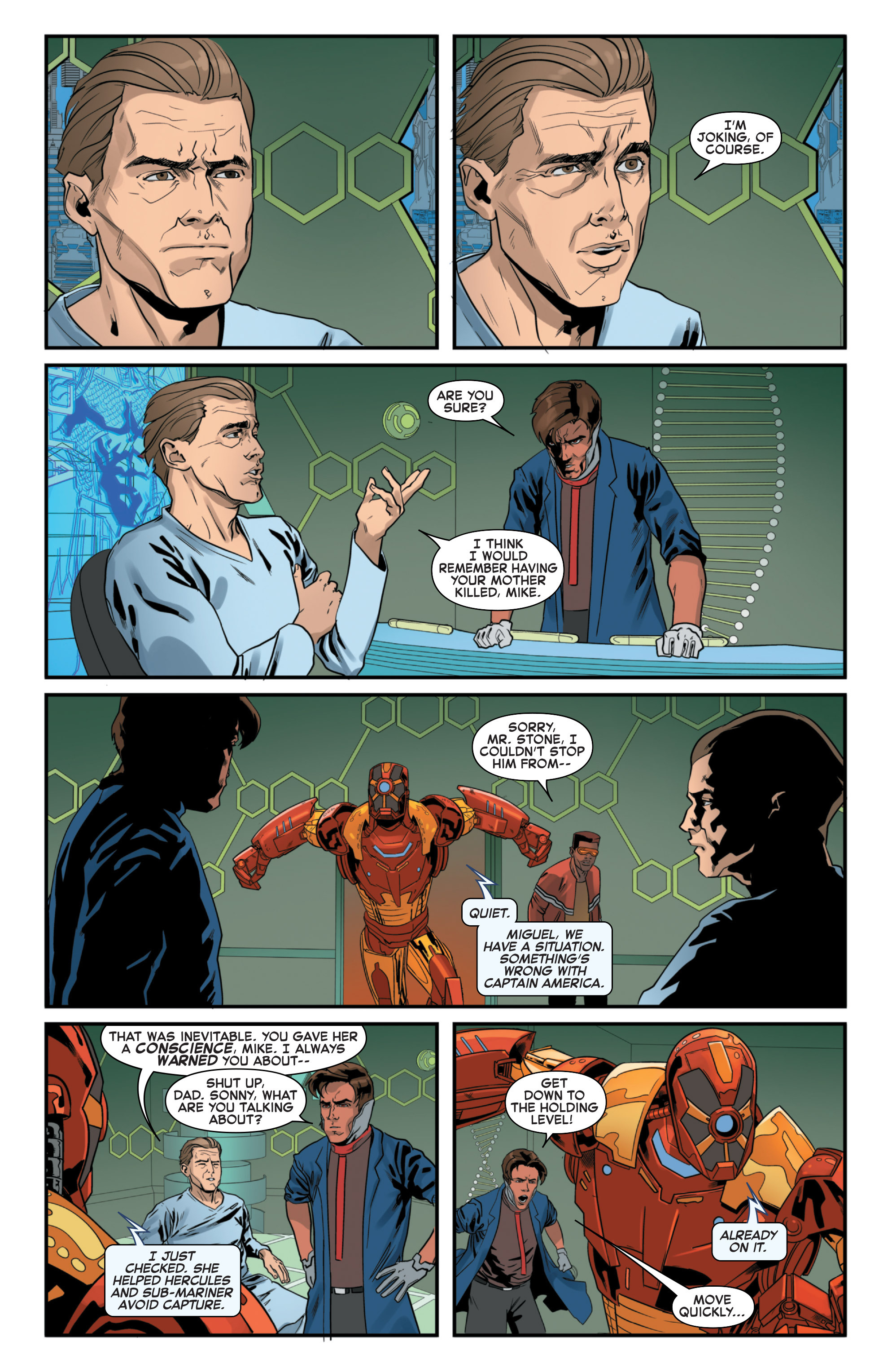 Read online Secret Wars 2099 comic -  Issue #4 - 12