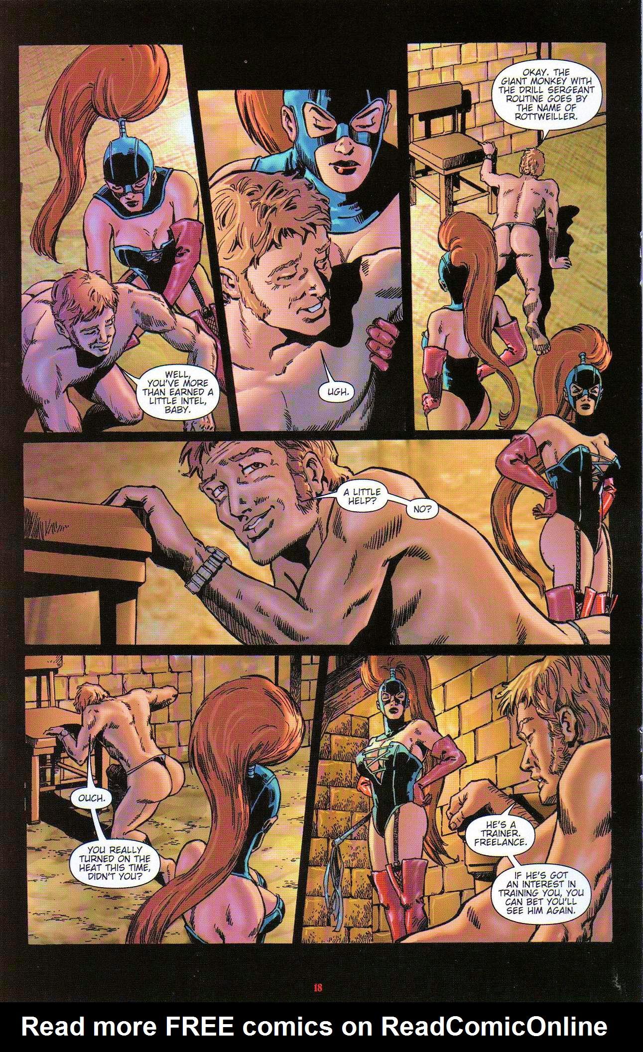 Read online Dominatrix comic -  Issue #3 - 20