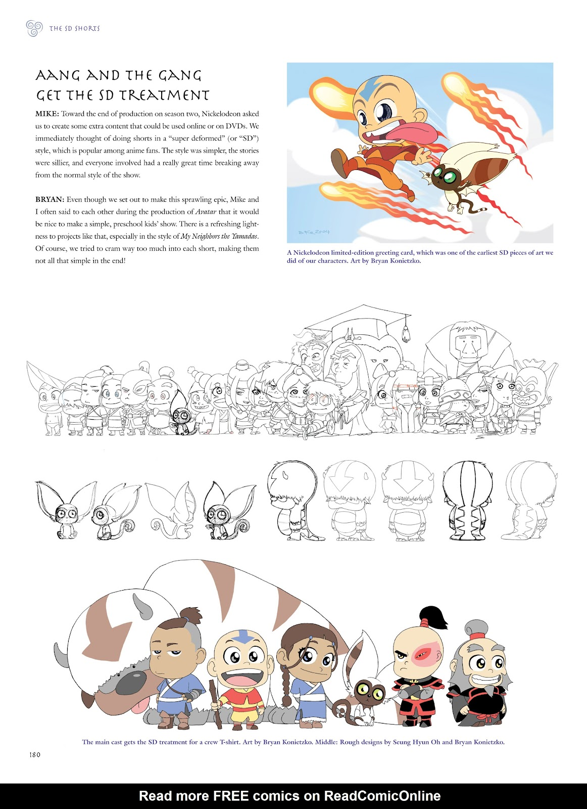 Read online Avatar: The Last Airbender - The Art of the Animated Series comic -  Issue # TPB (Part 2) - 77