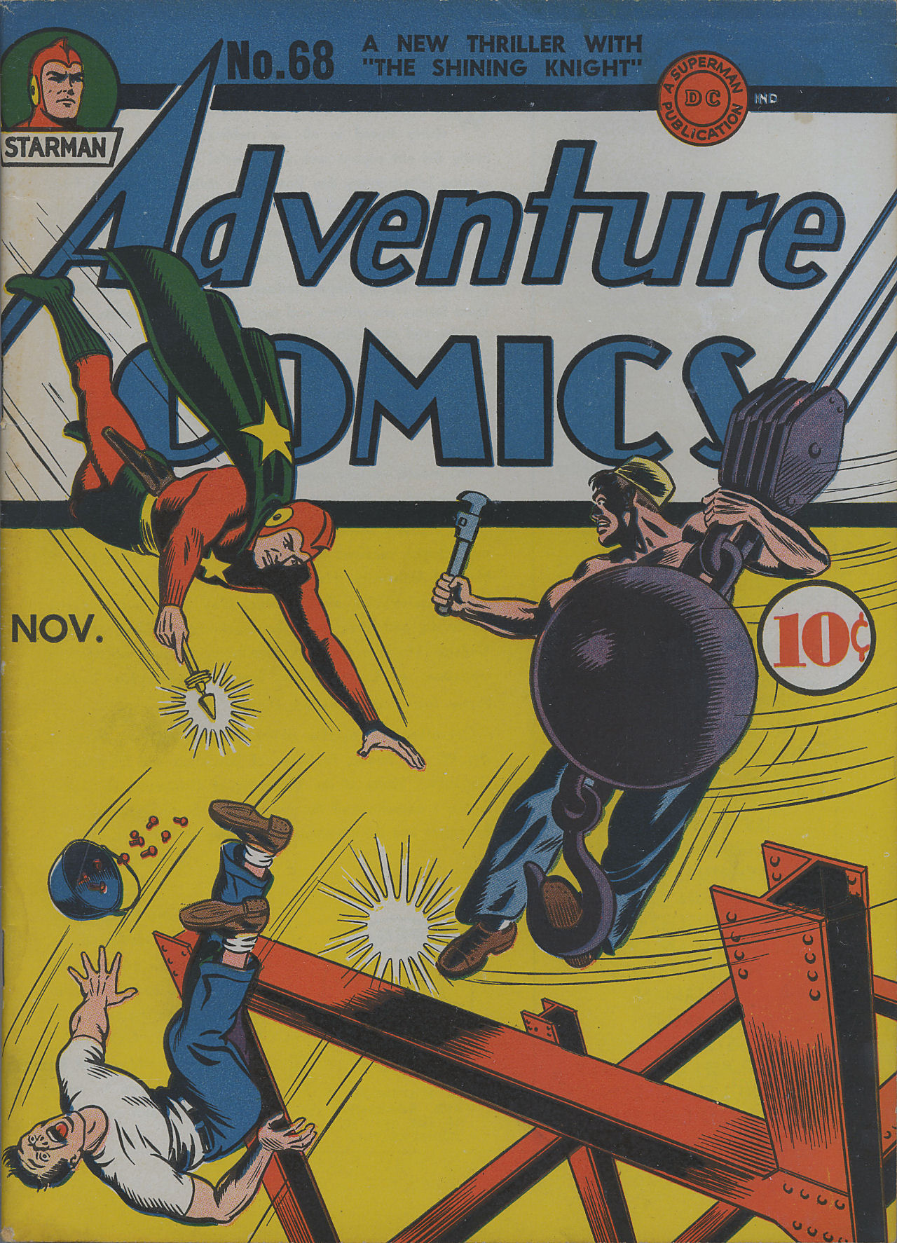 Read online Adventure Comics (1938) comic -  Issue #68 - 2