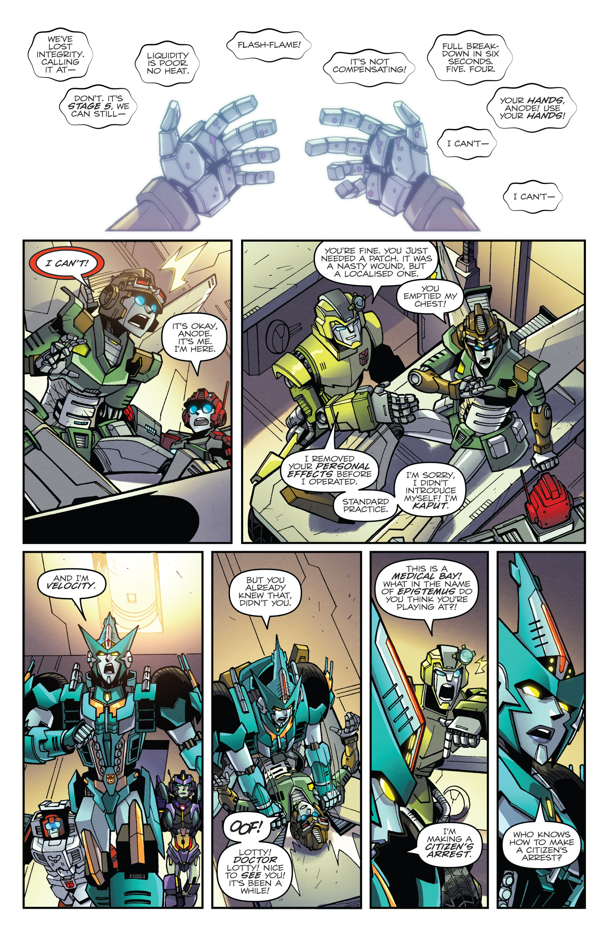 Read online Transformers: Lost Light comic -  Issue #2 - 17