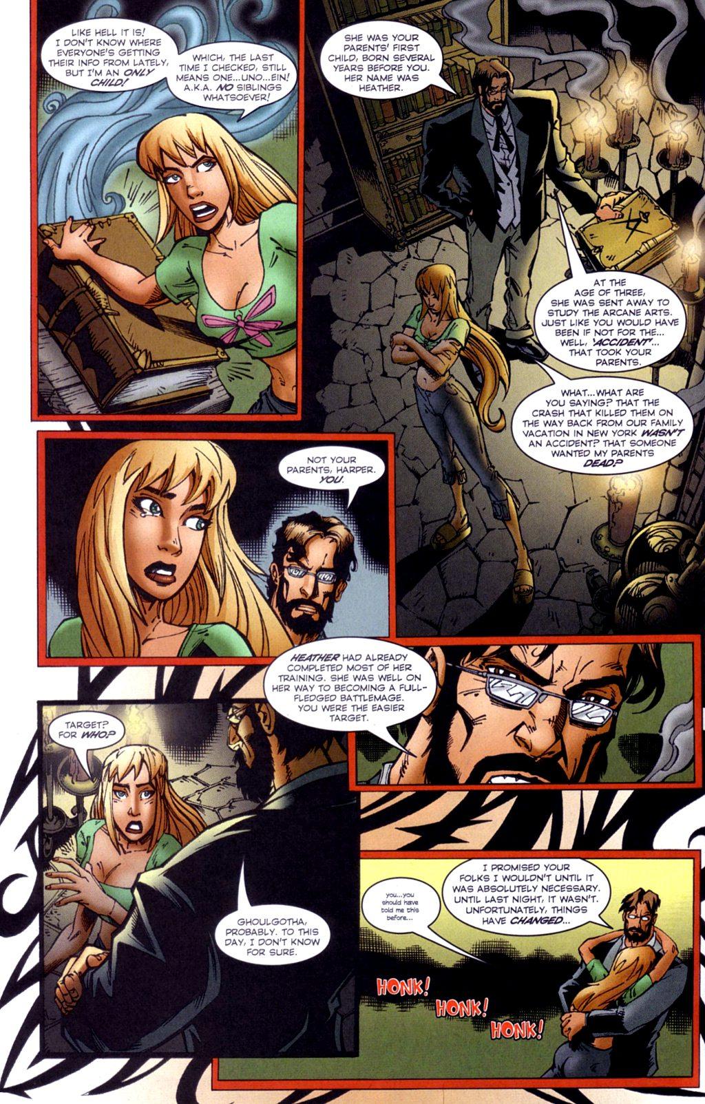 Read online Jezebelle comic -  Issue #2 - 9