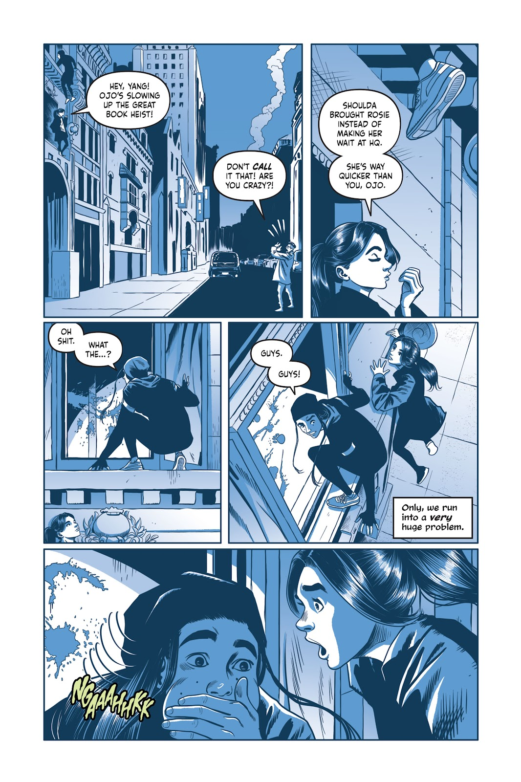 Read online Under the Moon: A Catwoman Tale comic -  Issue # TPB (Part 2) - 30