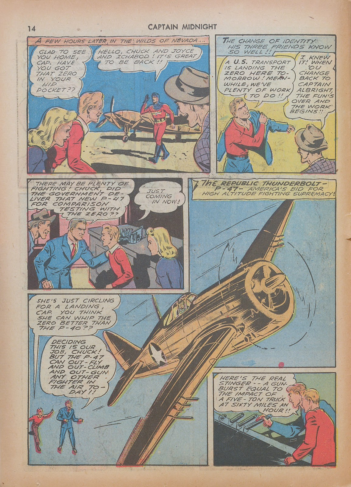 Captain Midnight (1942) issue 7 - Page 14