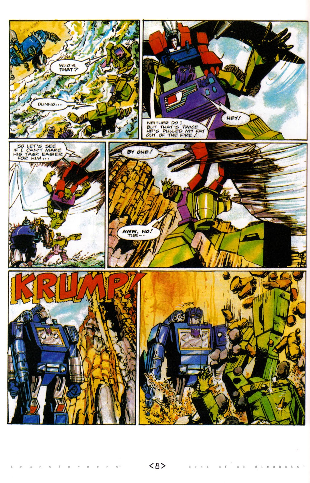 Read online The Transformers: Best of UK: Dinobots comic -  Issue #6 - 11