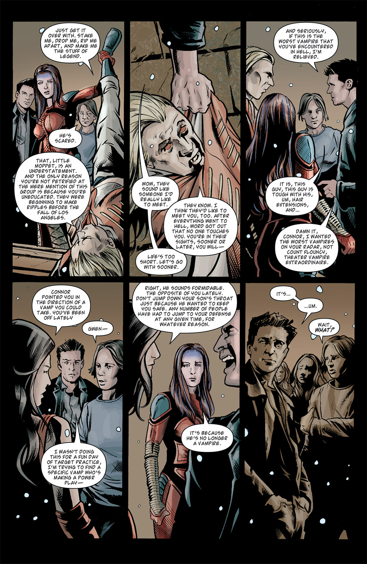 Read online Angel: After The Fall comic -  Issue #10 - 15