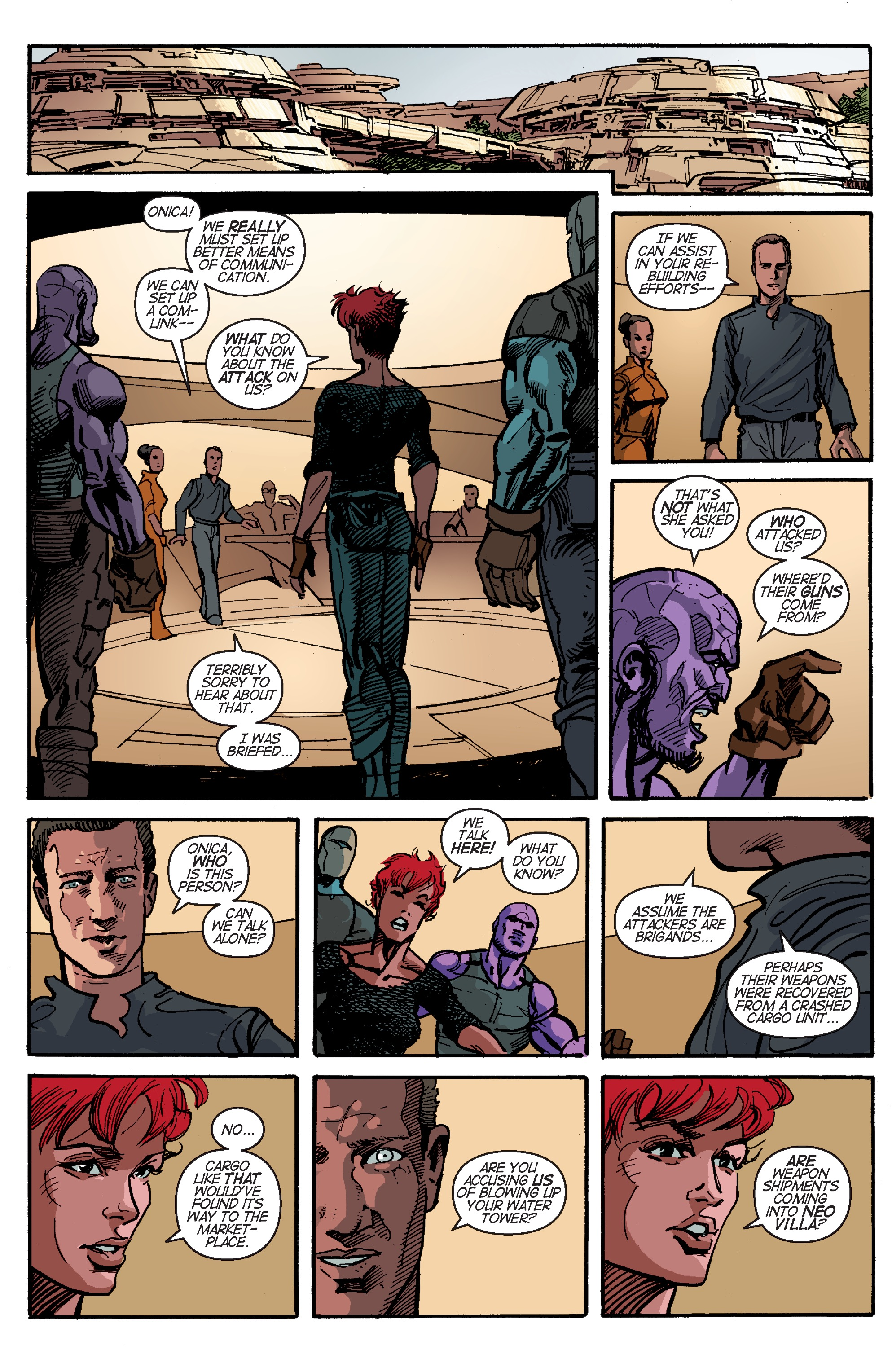 Read online Planetoid Praxis comic -  Issue #4 - 11
