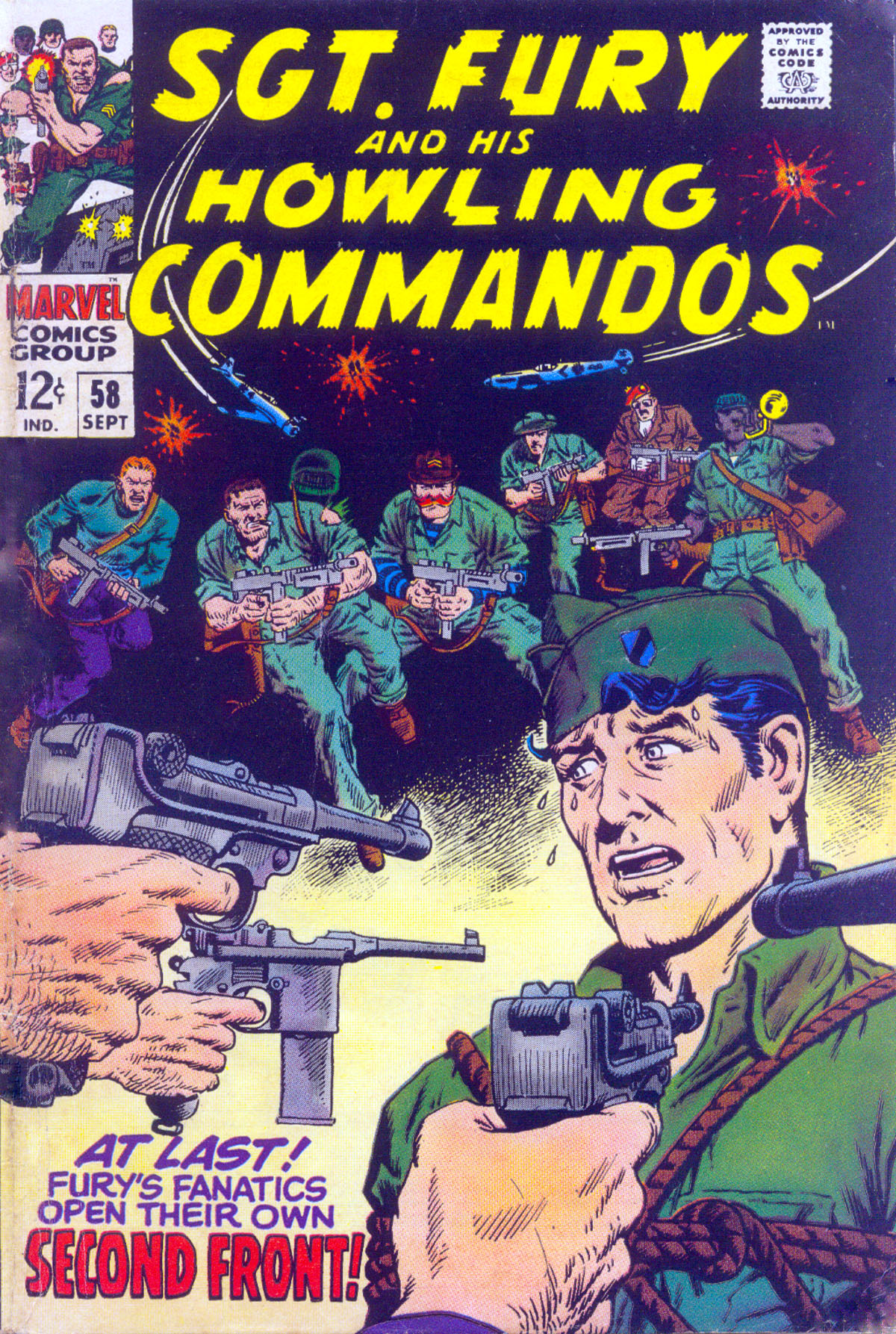 Read online Sgt. Fury comic -  Issue #58 - 1