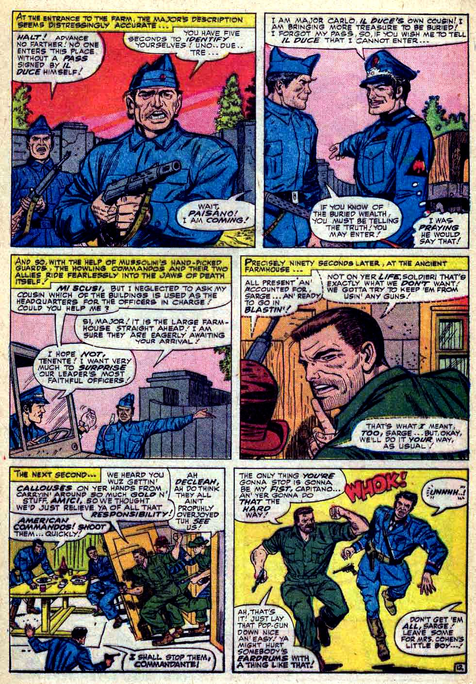 Read online Sgt. Fury comic -  Issue #30 - 17