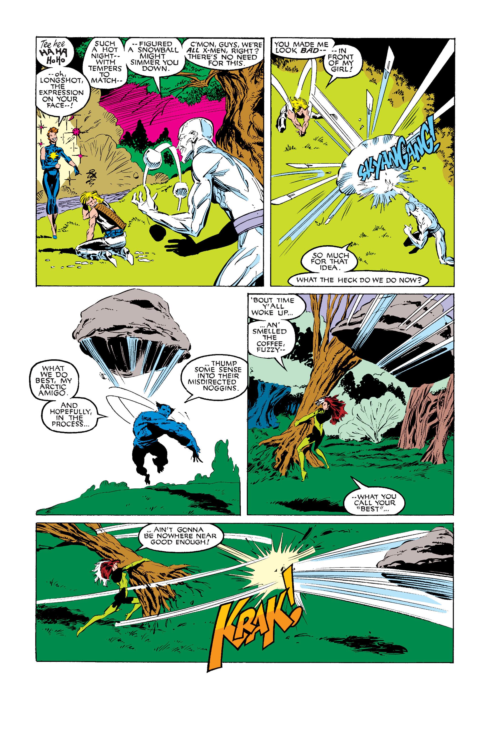 Read online Uncanny X-Men (1963) comic -  Issue #242 - 16