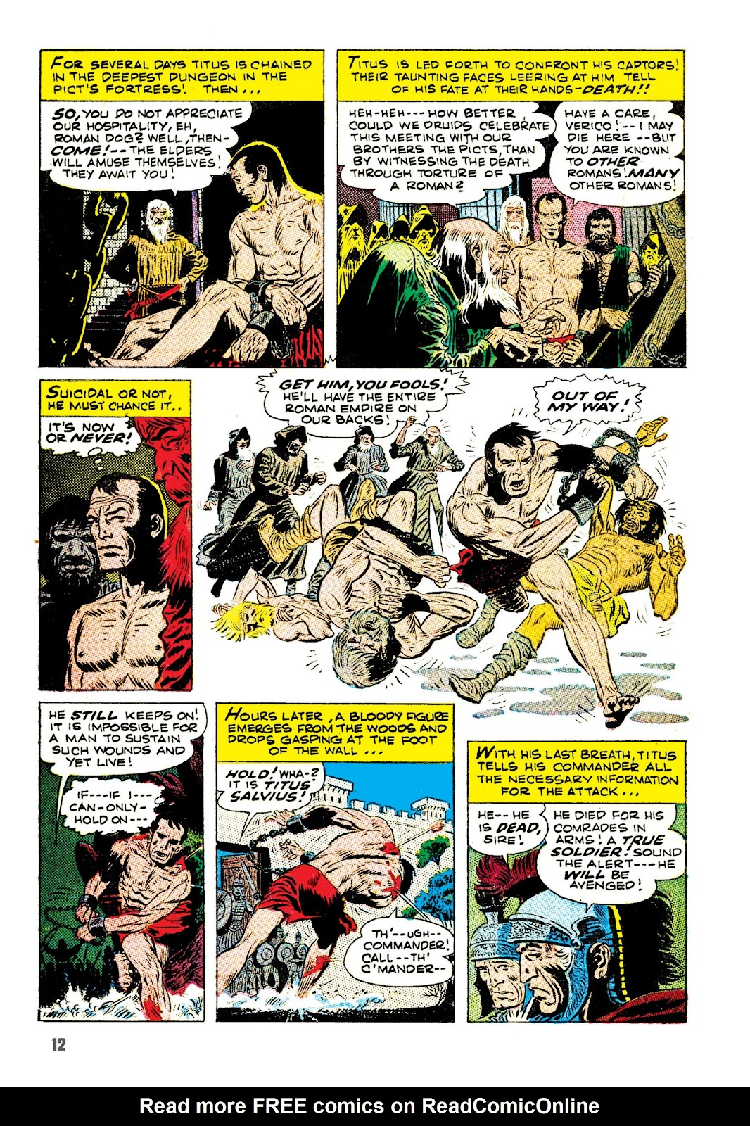 Read online The Joe Kubert Archives comic -  Issue # TPB (Part 1) - 23