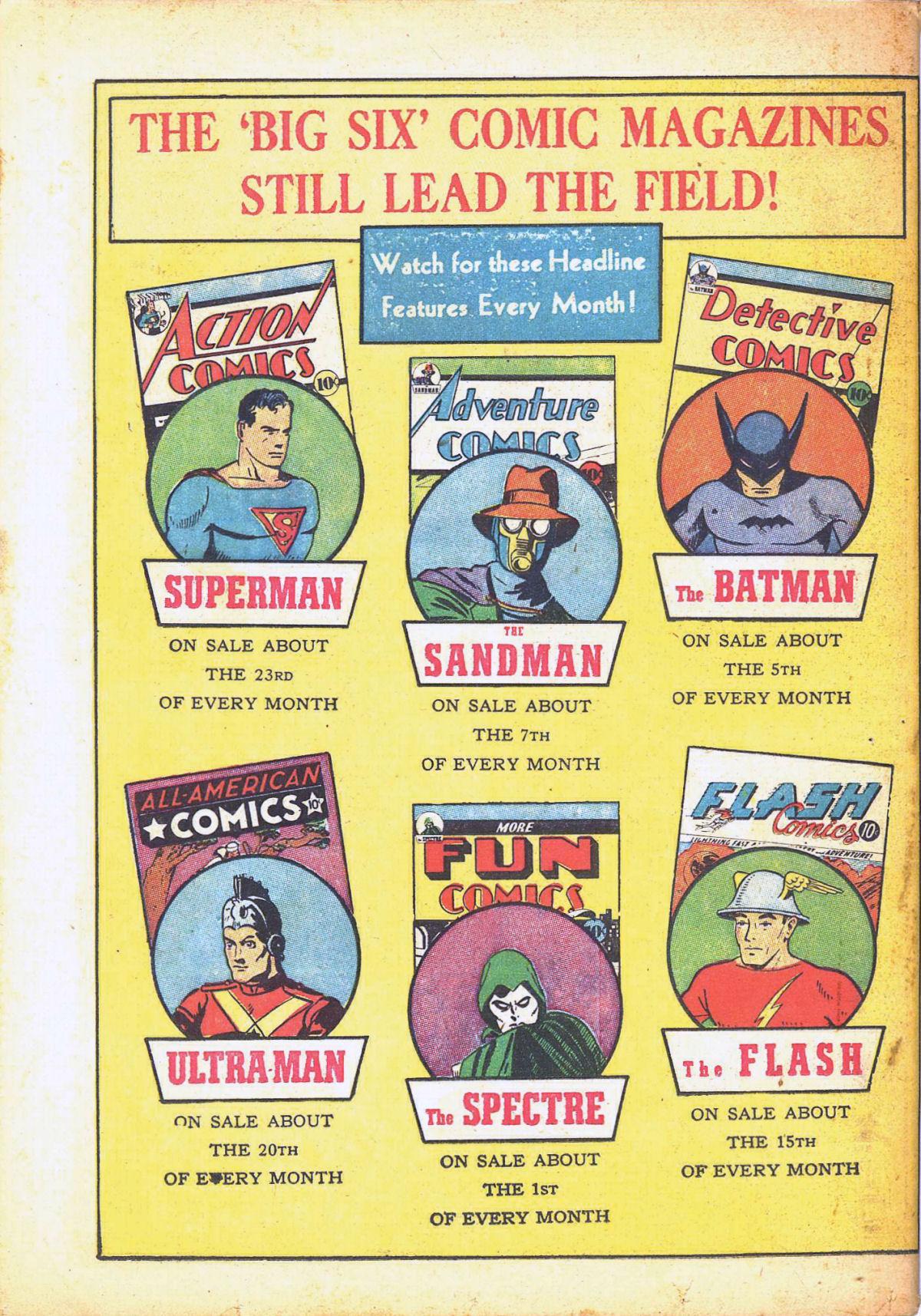 Read online Detective Comics (1937) comic -  Issue #39 - 68