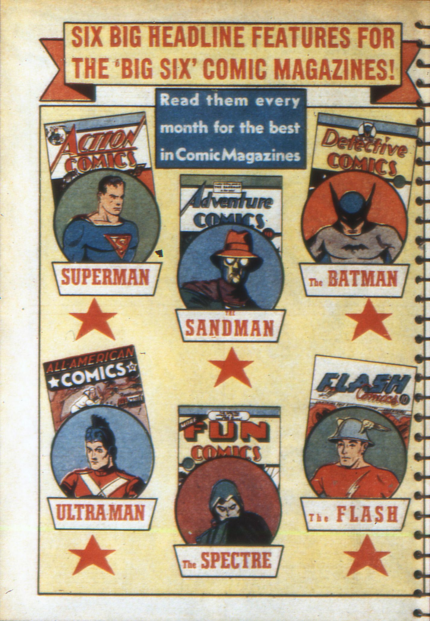 Read online Adventure Comics (1938) comic -  Issue #49 - 66