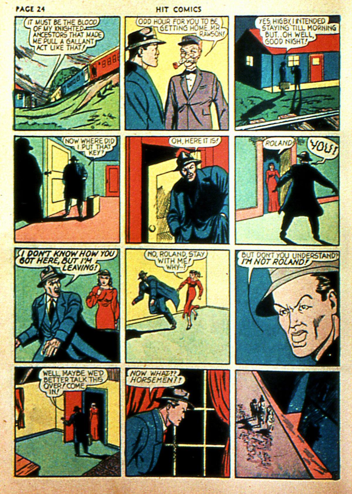 Read online Hit Comics comic -  Issue #2 - 26