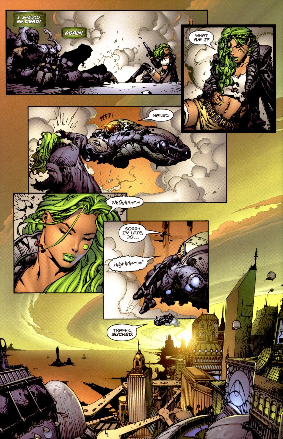 Read online Aphrodite IX (2000) comic -  Issue #1 - 9