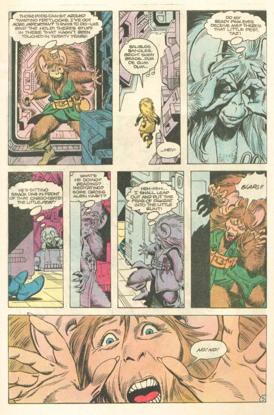 Read online Atari Force (1984) comic -  Issue #14 - 7