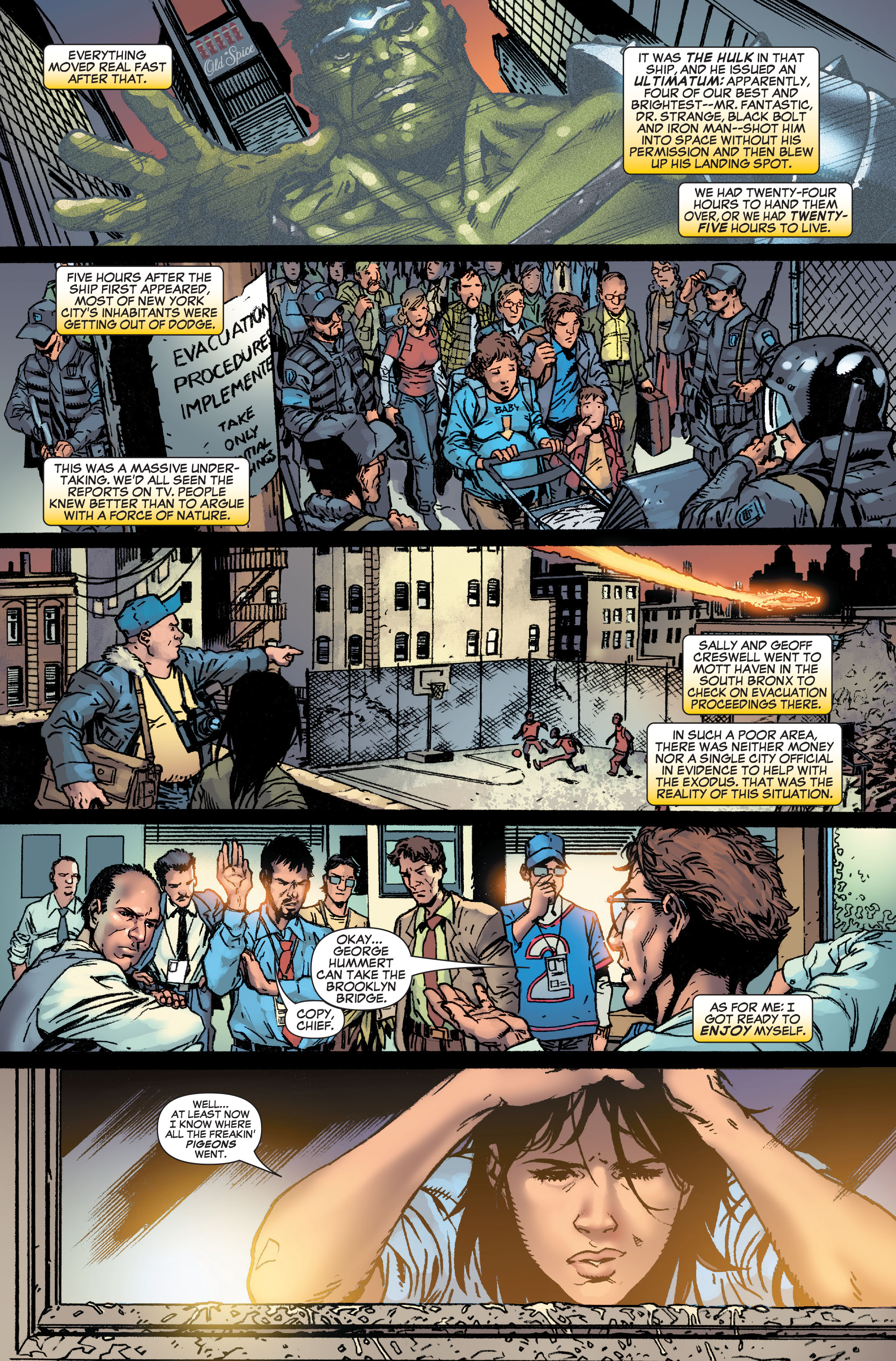 Read online World War Hulk: Front Line comic -  Issue #1 - 8