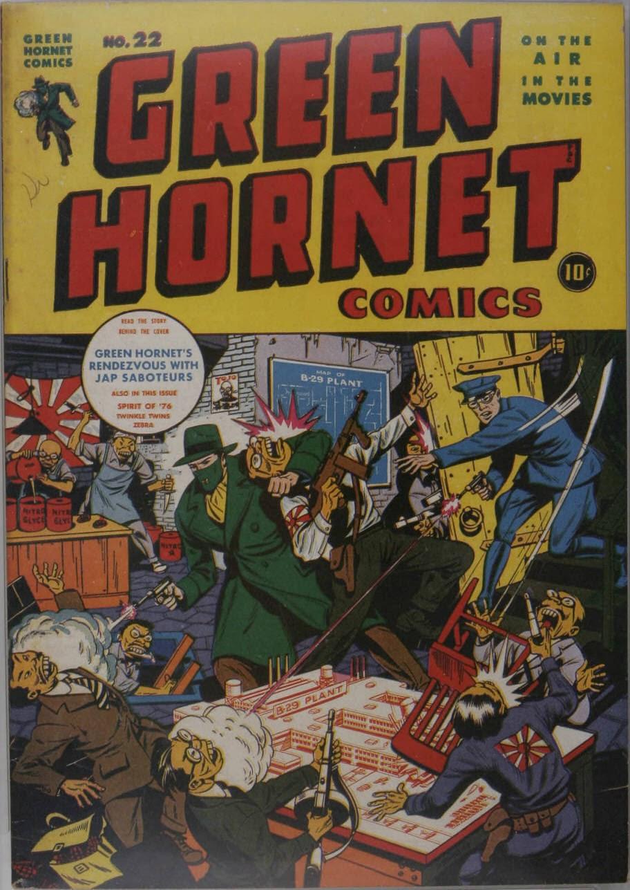Green Hornet Comics 22 Page 1