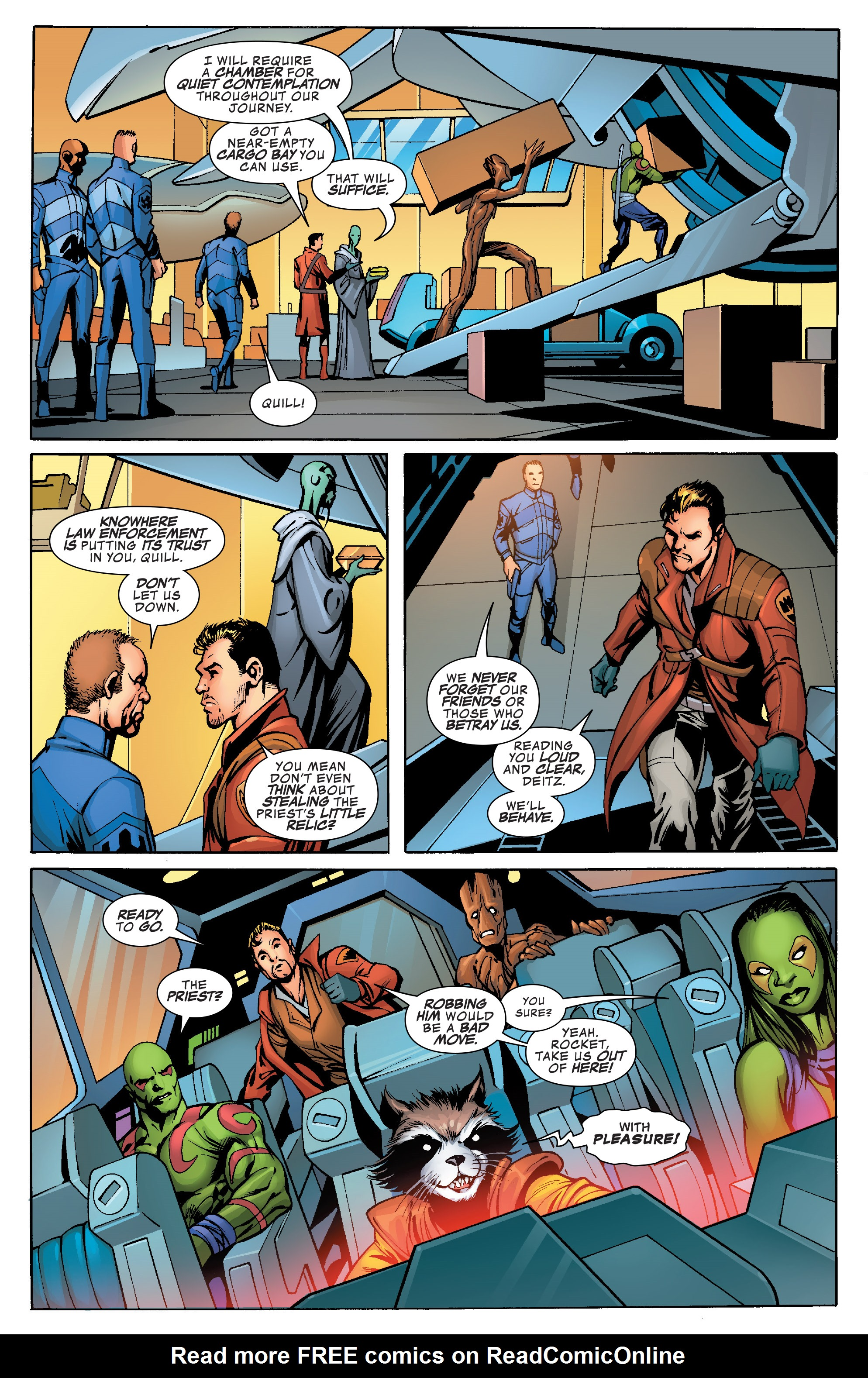Read online Guardians of the Galaxy: Mother Entropy comic -  Issue #1 - 15